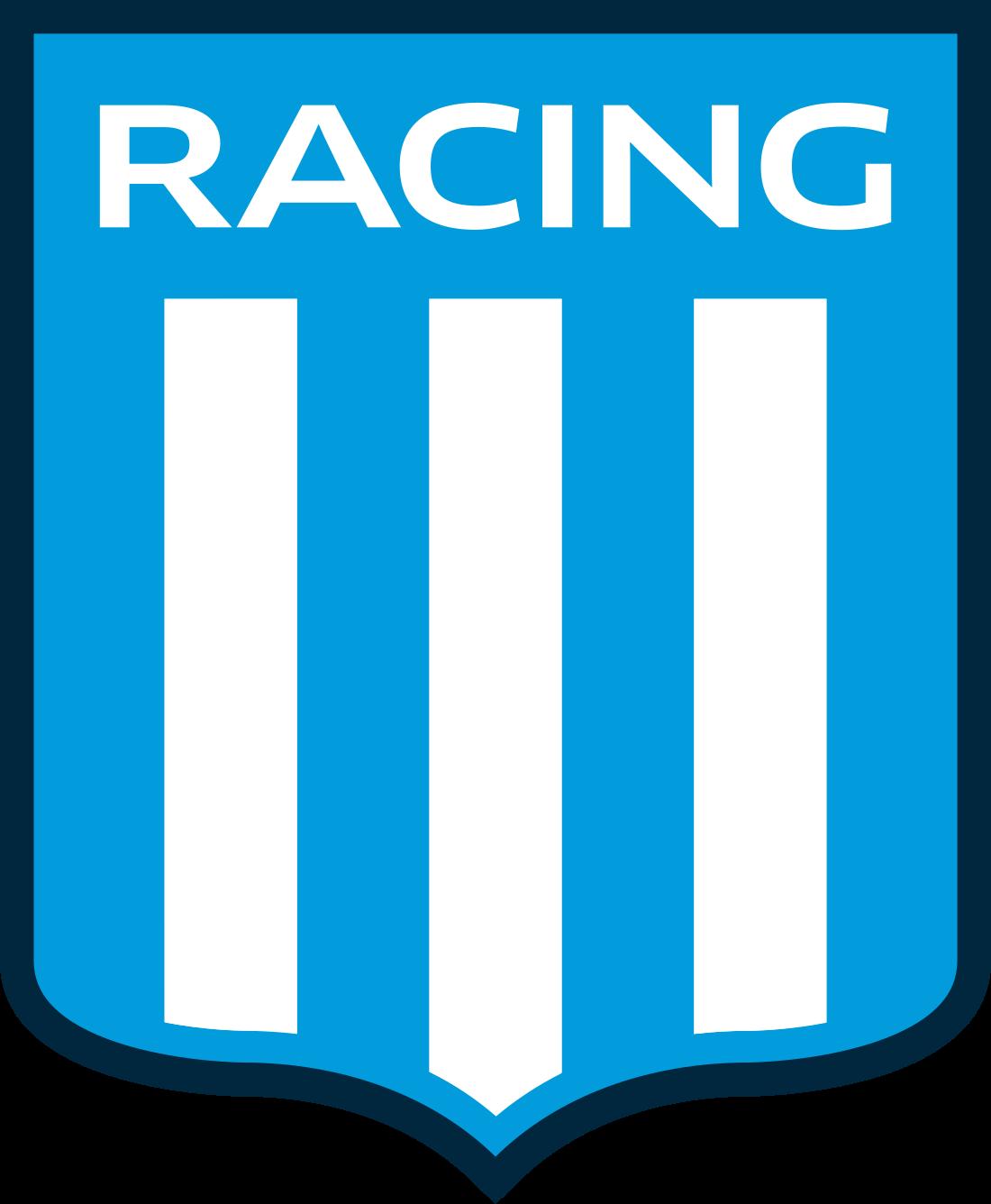 racing logo escudo 3 - Racing Logo - Racing Club de Avellaneda Escudo