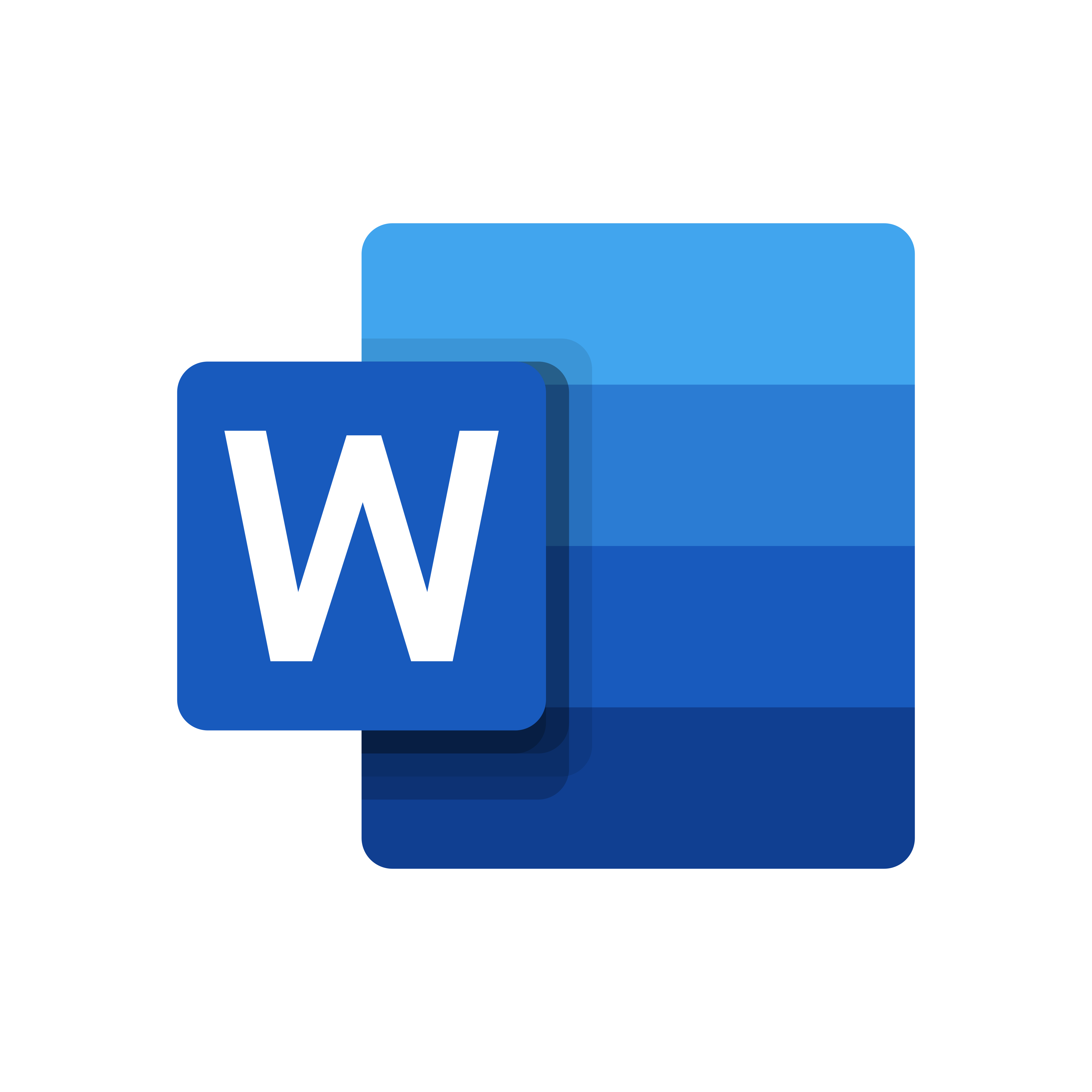 word logo 0 - Microsoft Word Logo