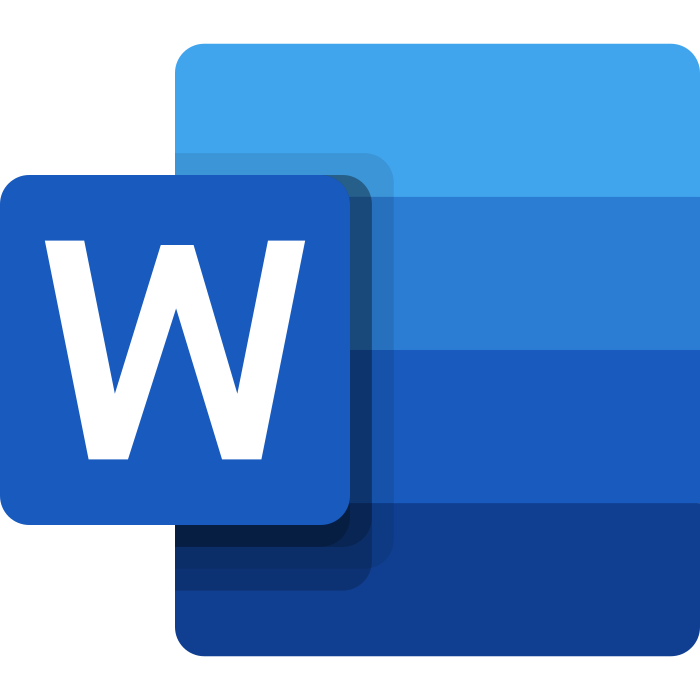 word logo 3 1 - Microsoft Word Logo