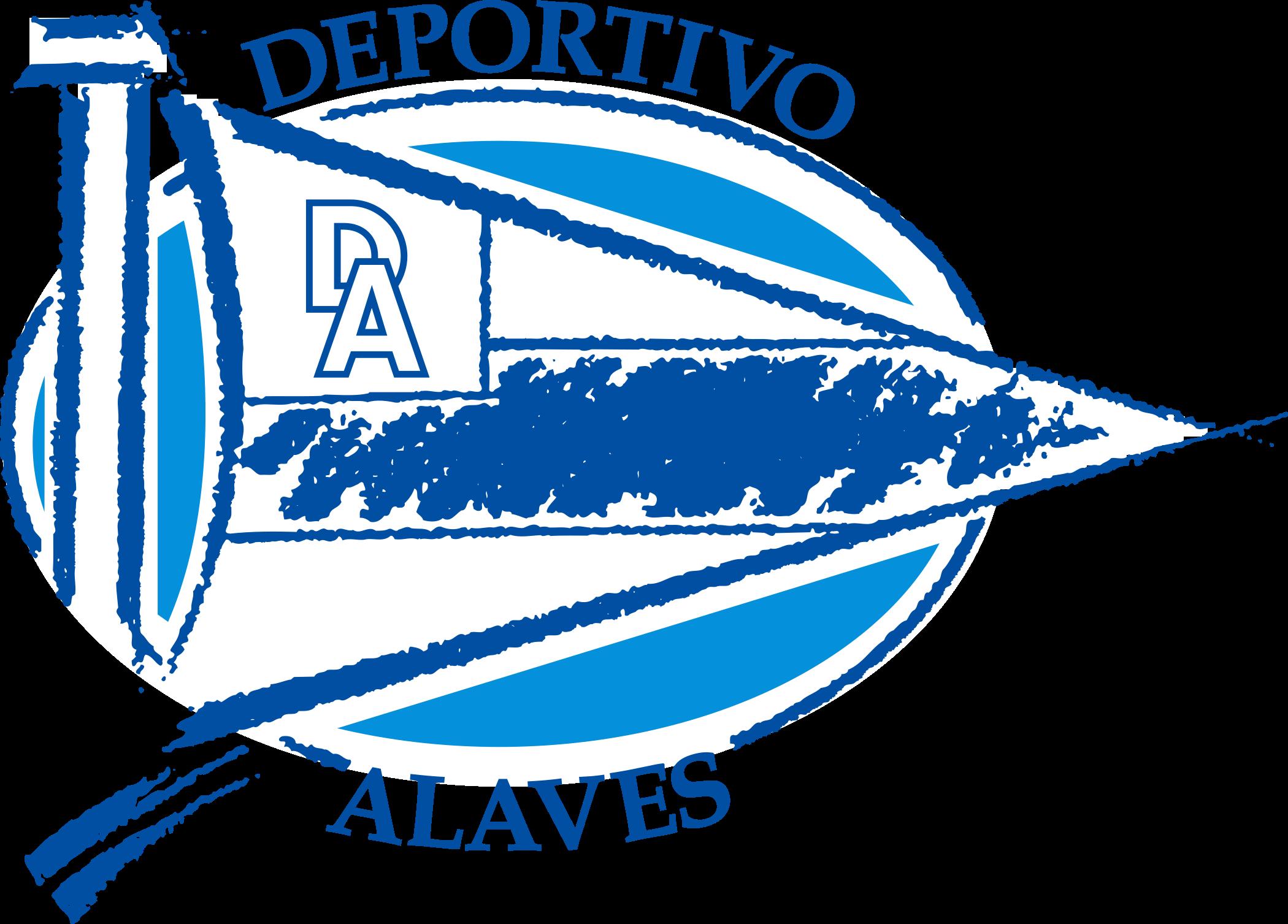 deportivo Alaves logo 1 - Deportivo Alavés Logo