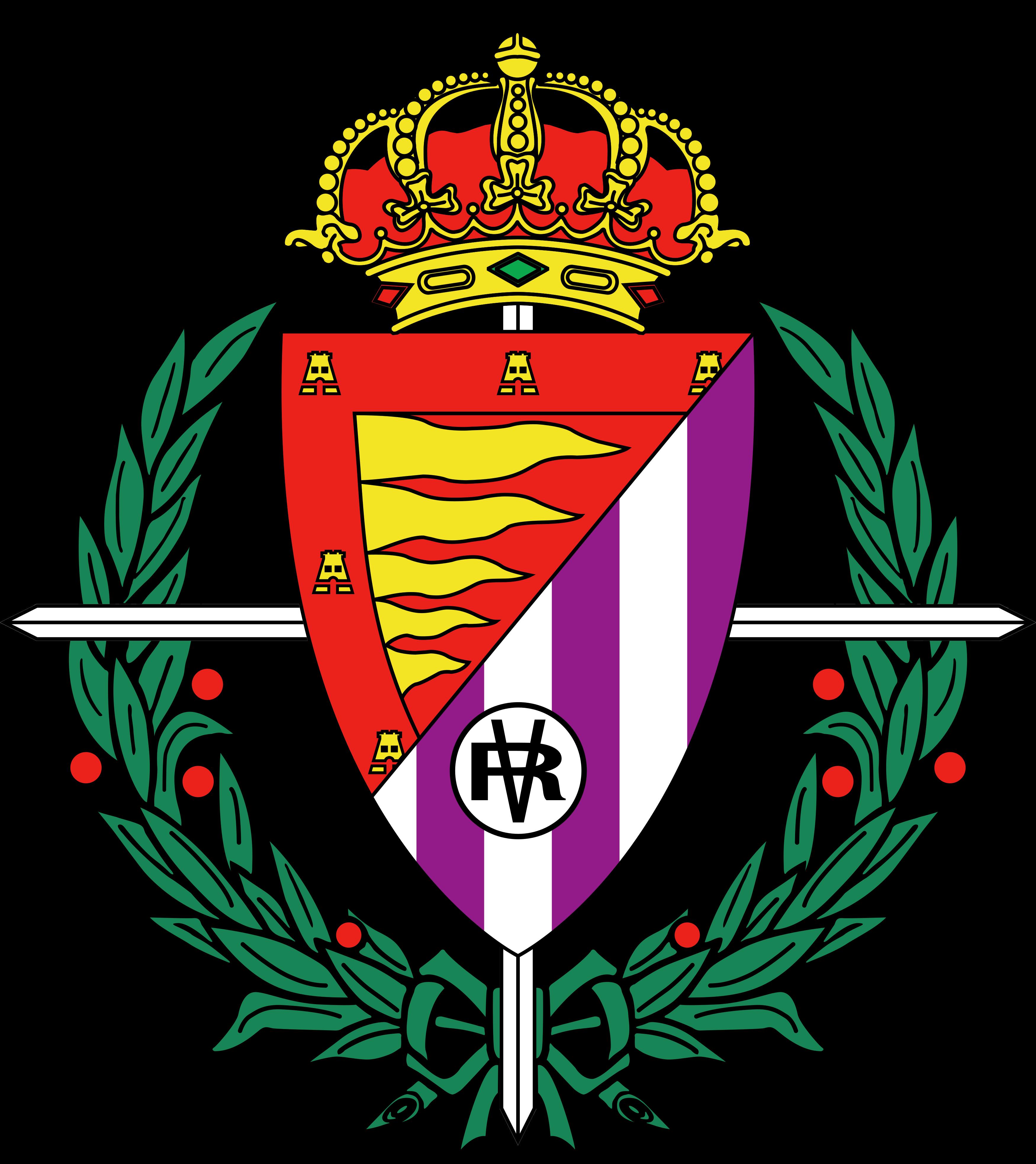real valladolid logo escudo - Real Valladolid Logo - Real Valladolid Club de Fútbol Escud
