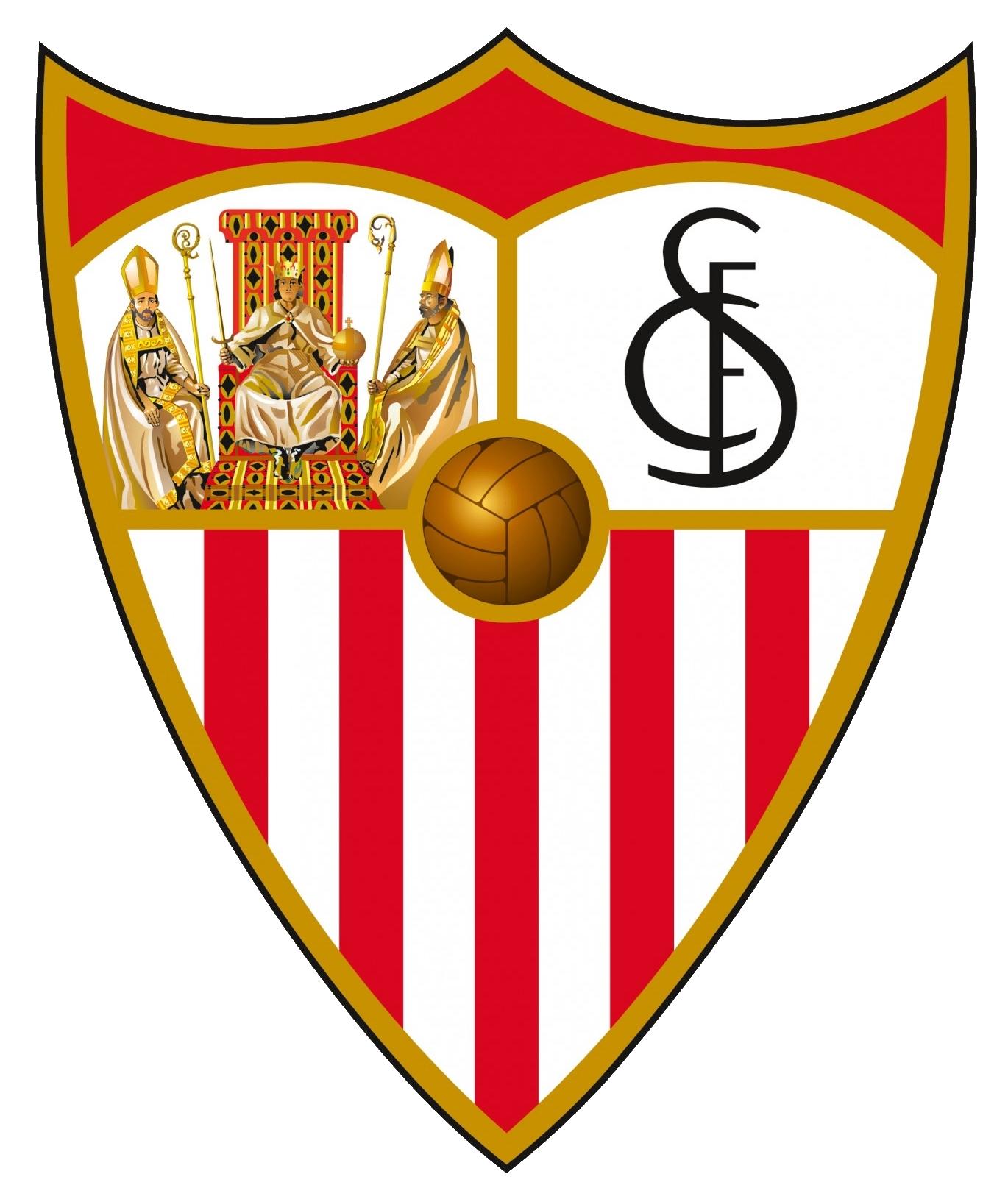sevilla logo escudo - Sevilla Fútbol Club Logo – Escudo