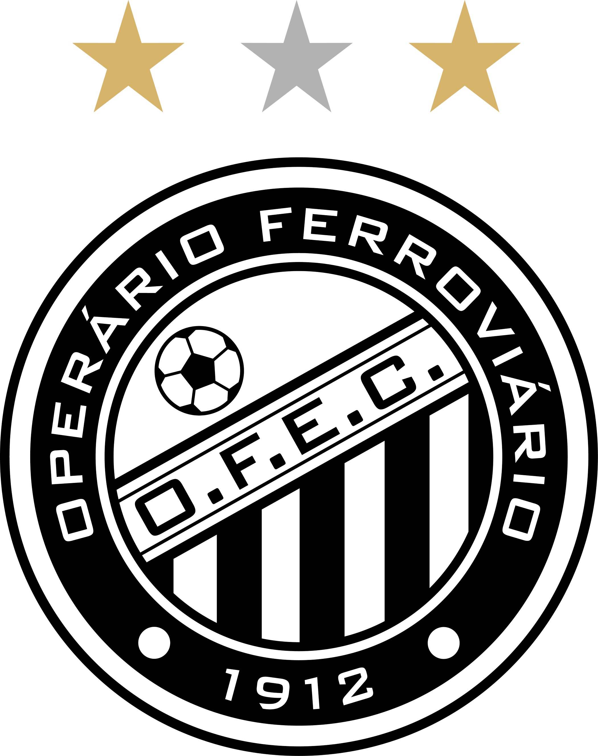 Operário Ferroviário Logo, Escudo.