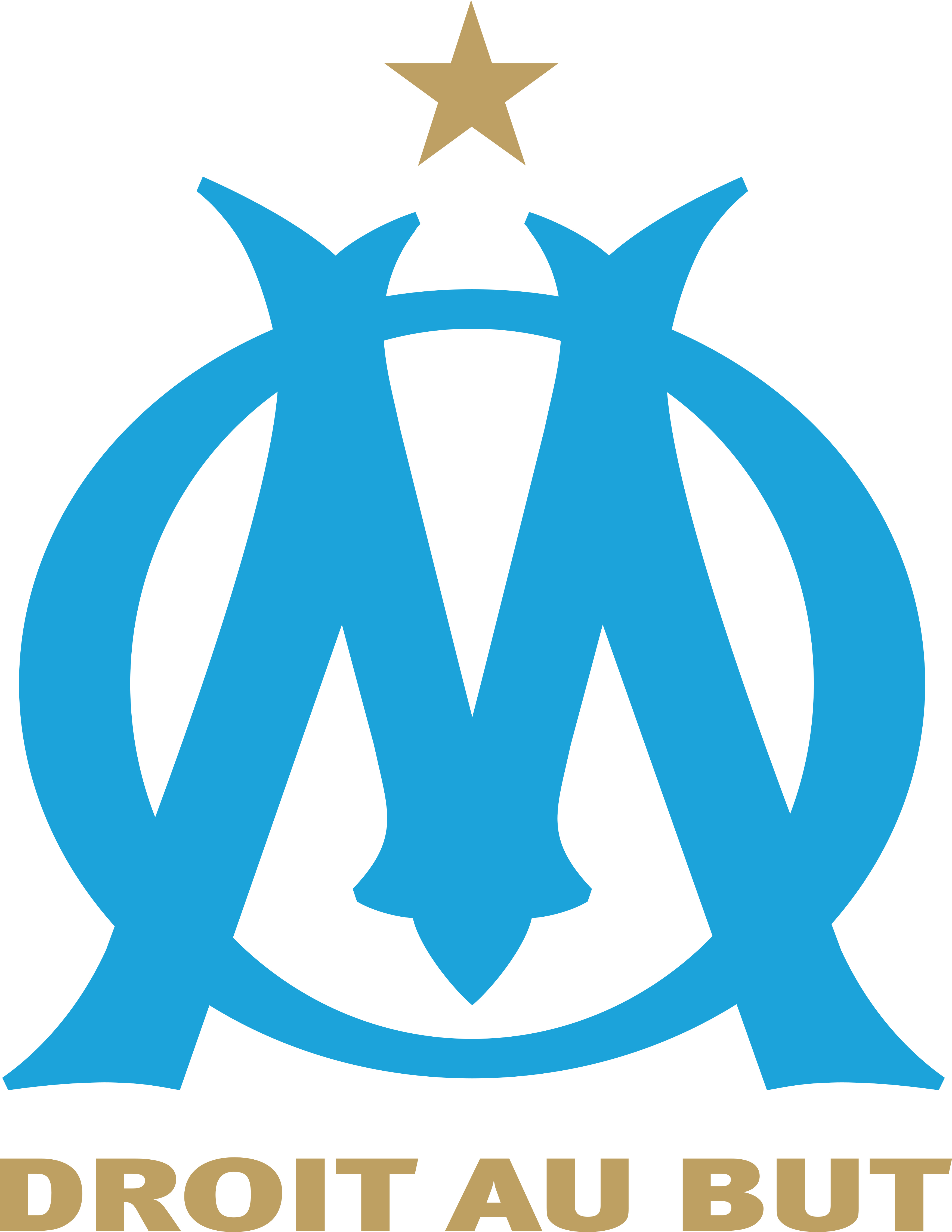 olympique de marseille - Olympique de Marseille Logo