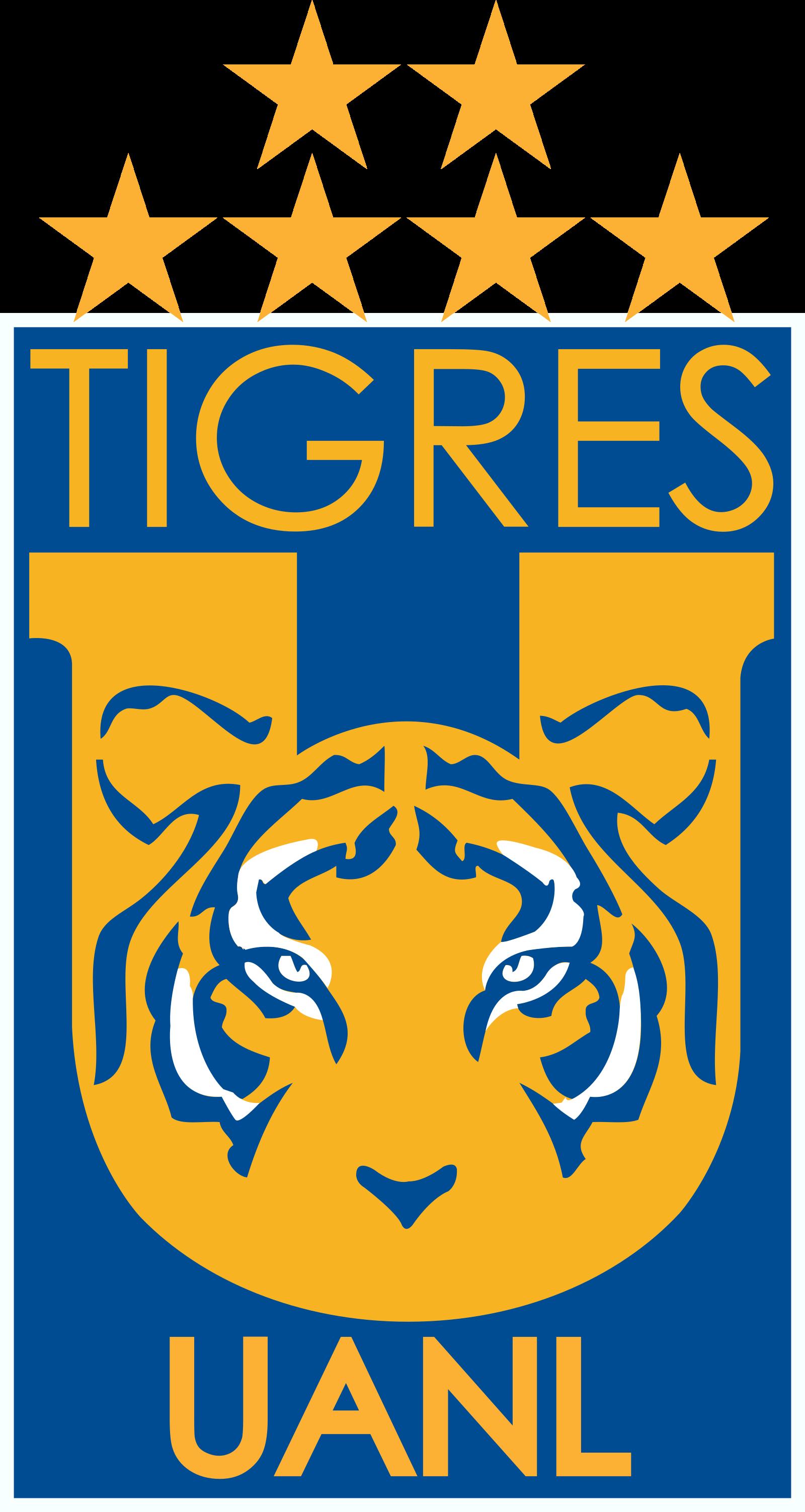 Tigres México Logo Escudo.