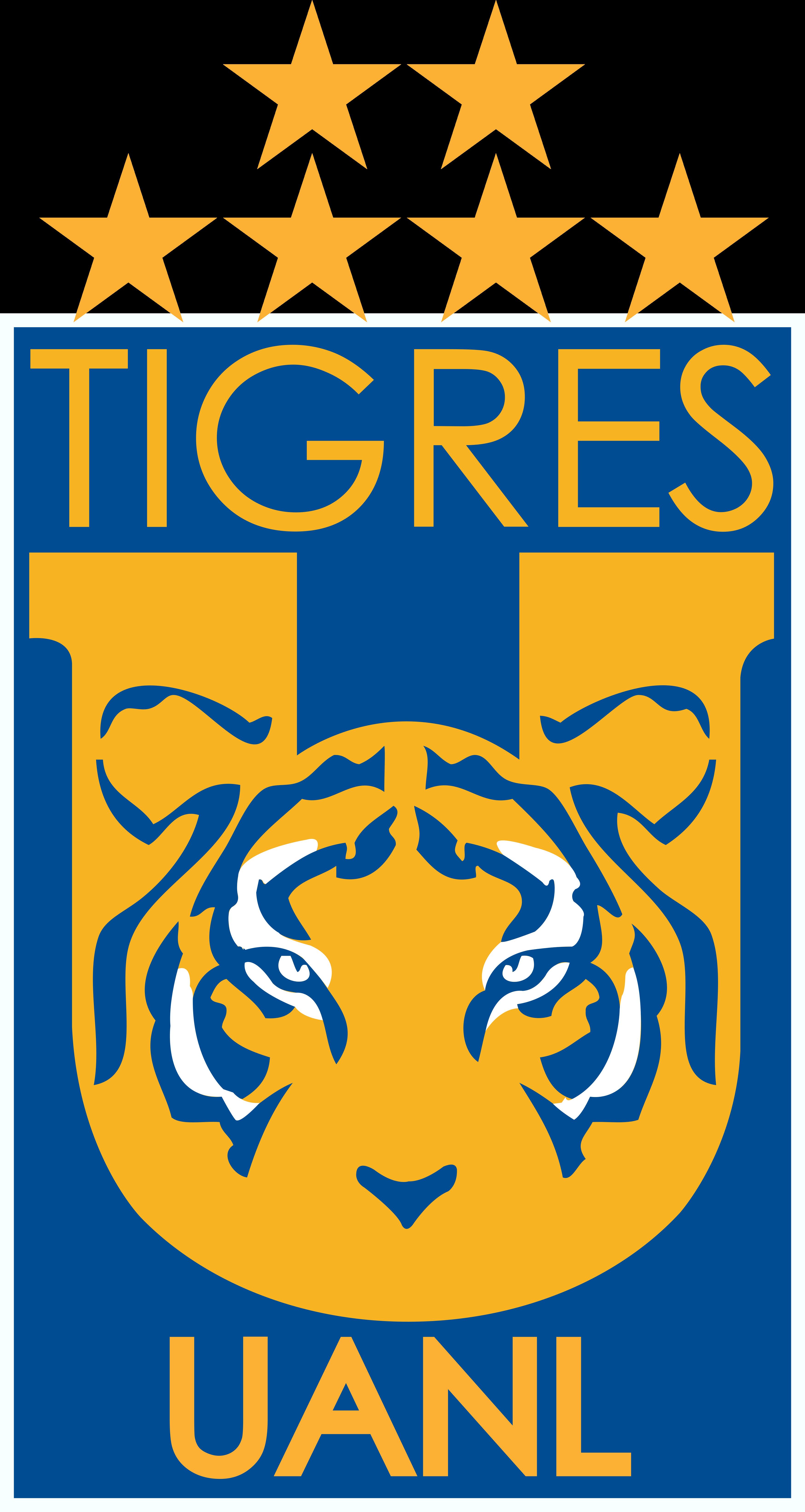 tigres mexico logo escudo - Tigres Logo - Club Tigres do México Escudo