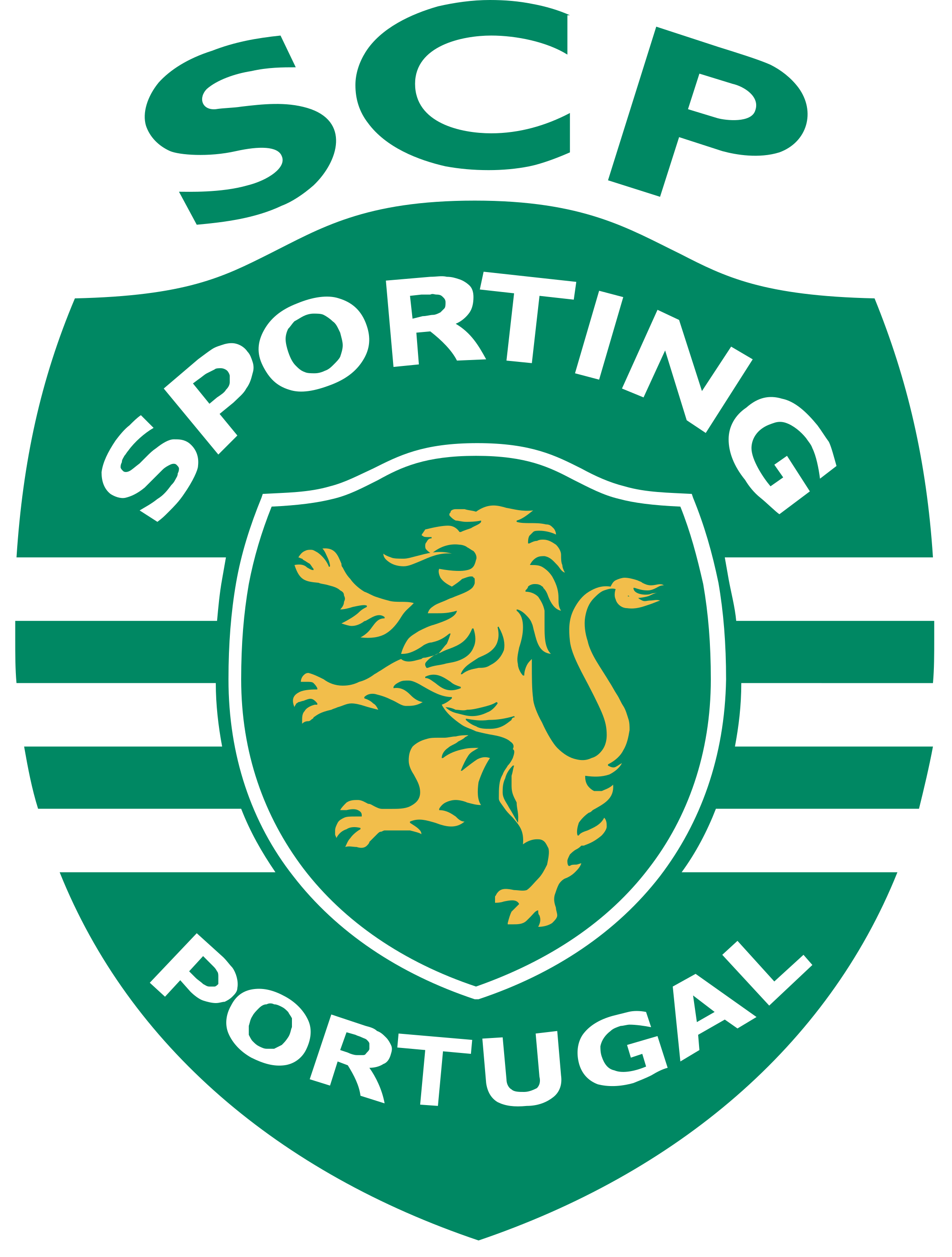 sporting clube de portugal logo escudo 1 - Sporting Logo - Sporting Clube de Portugal Escudo