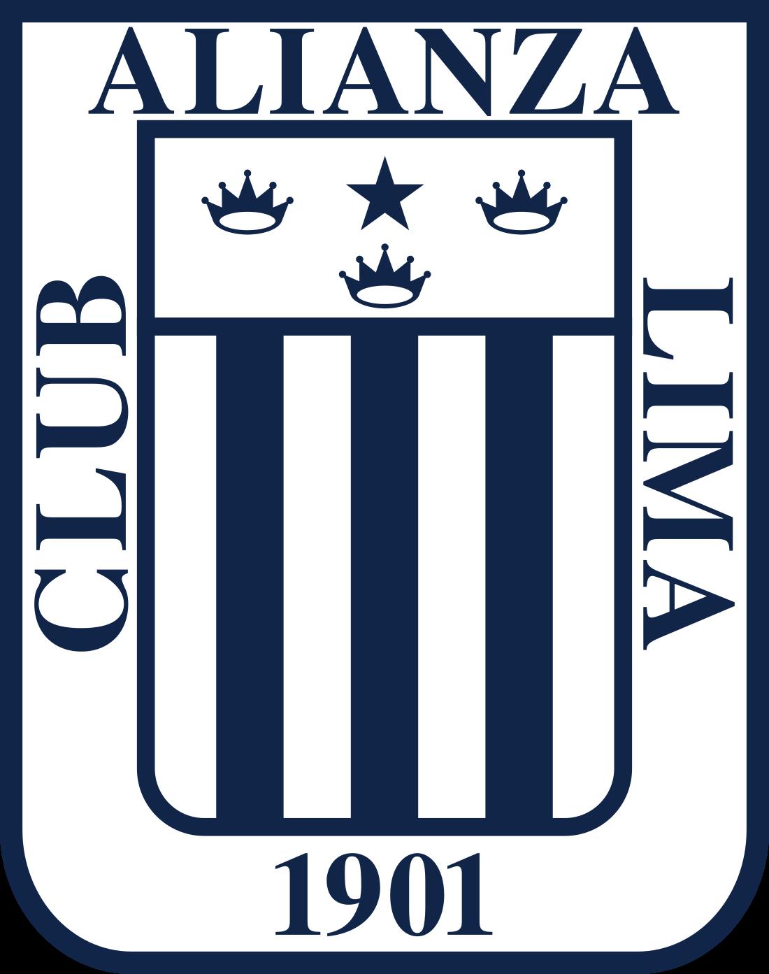 alianza lima logo escudo 3 - Alianza Lima Logo - Escudo