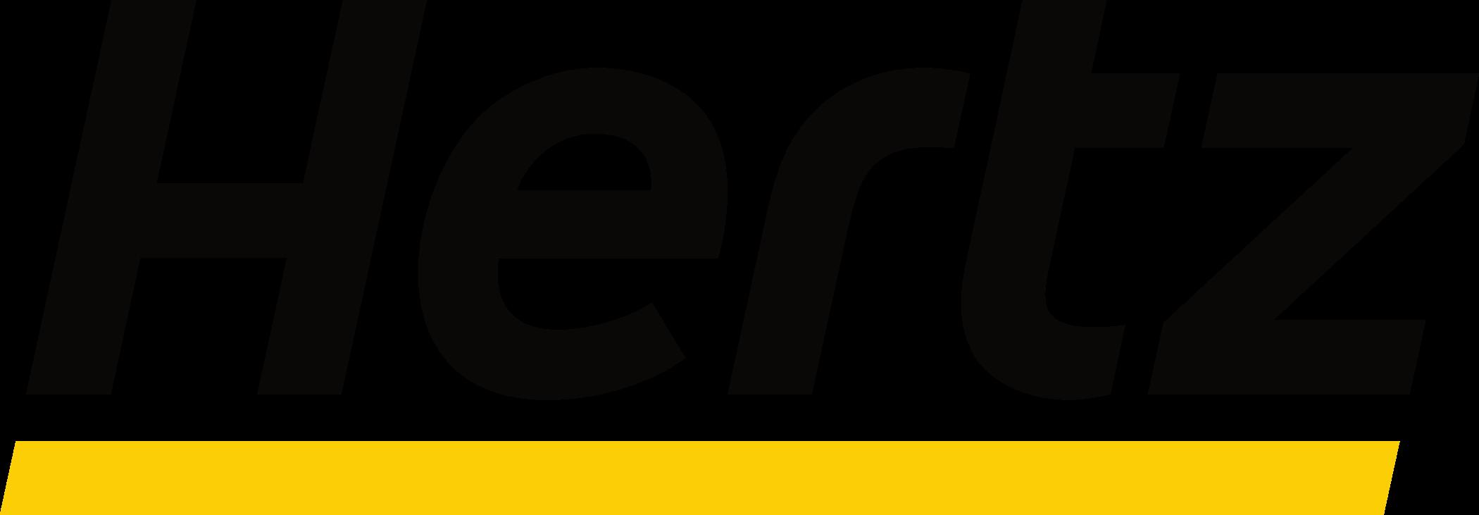 hertz logo 1 - Hertz Logo