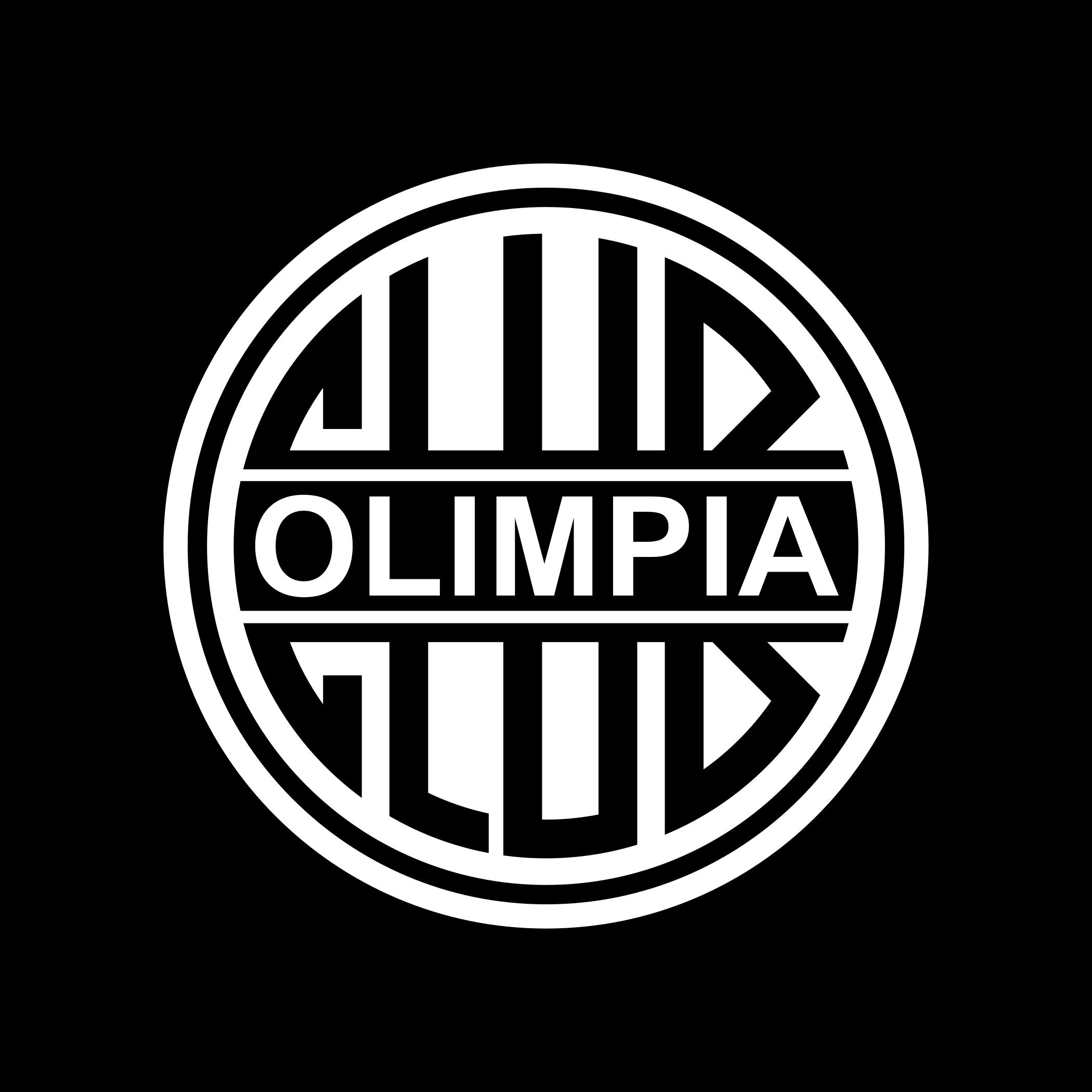 olimpia logo escudo 1 - Olimpia Logo - Club Olimpia Escudo