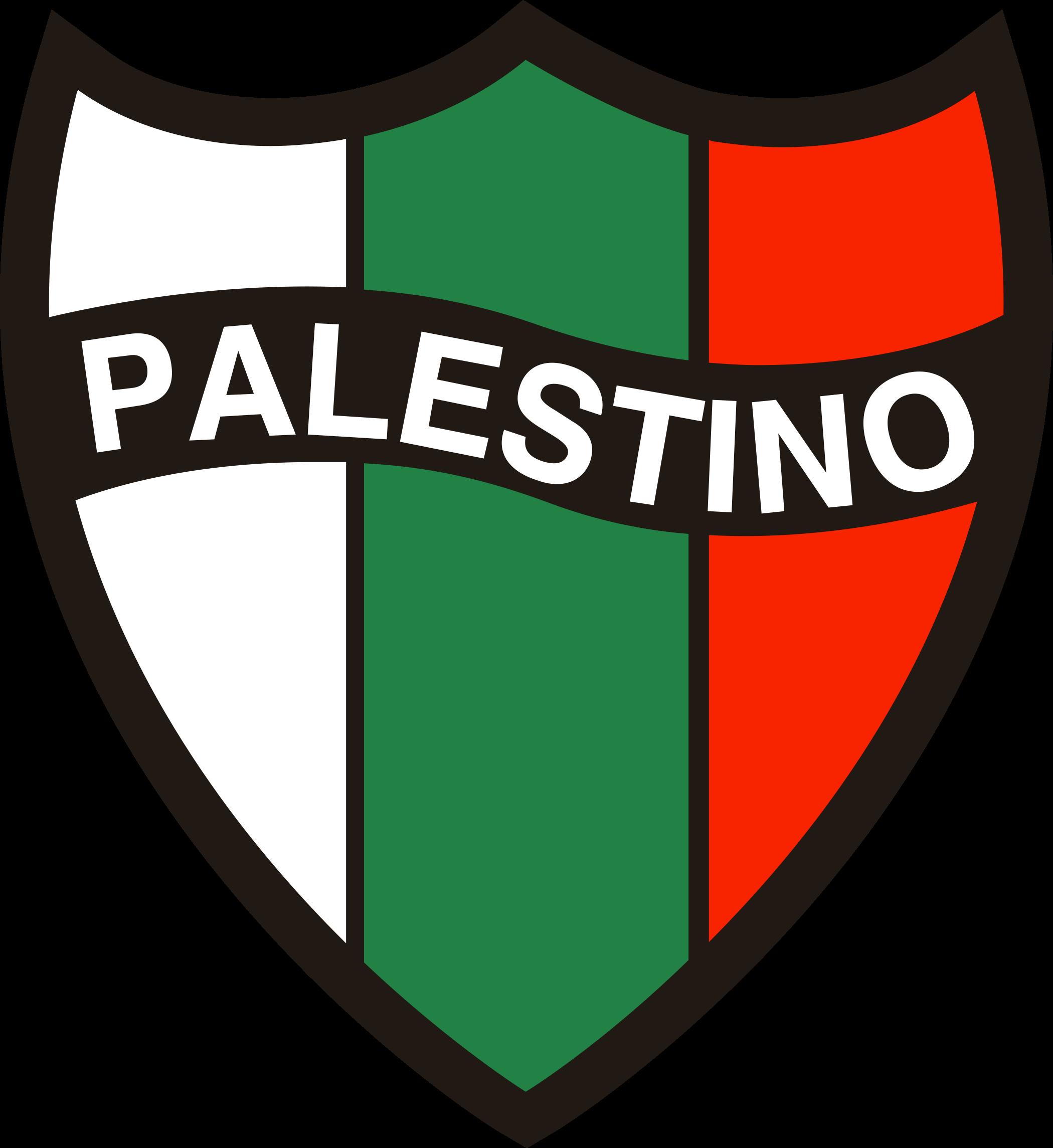 palestino logo escudo 1 - Palestino Logo - Club Deportivo Palestino Escudo