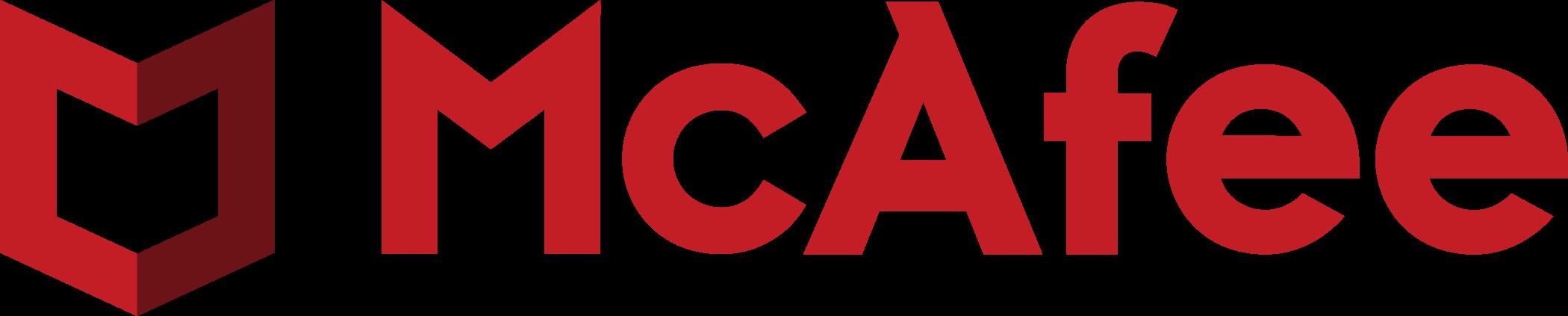 mcafee logo 1 - McAfee Logo