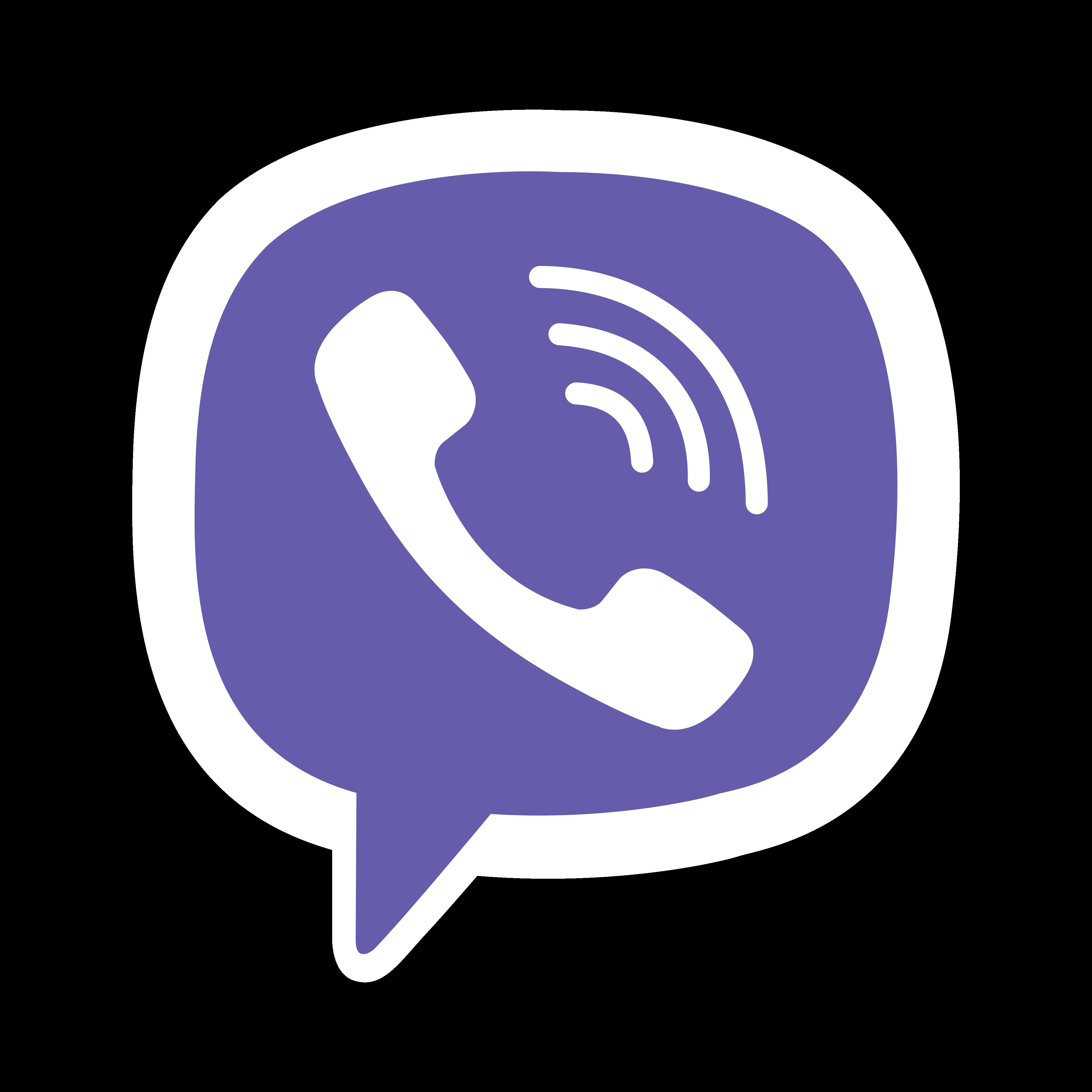 viber logo 0 - Rakuten Viber Logo - Icon
