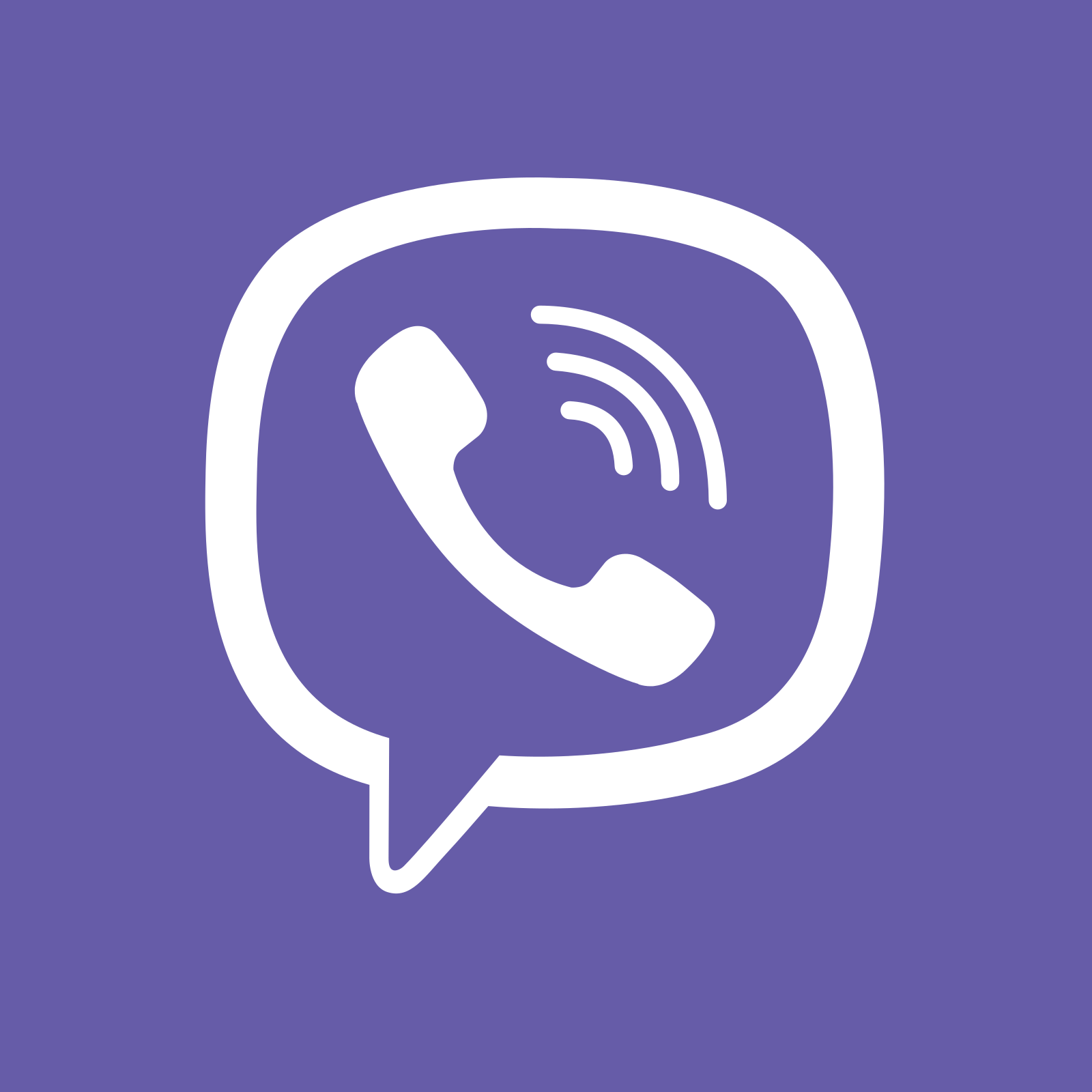 viber logo icon 6 - Rakuten Viber Logo - Icon