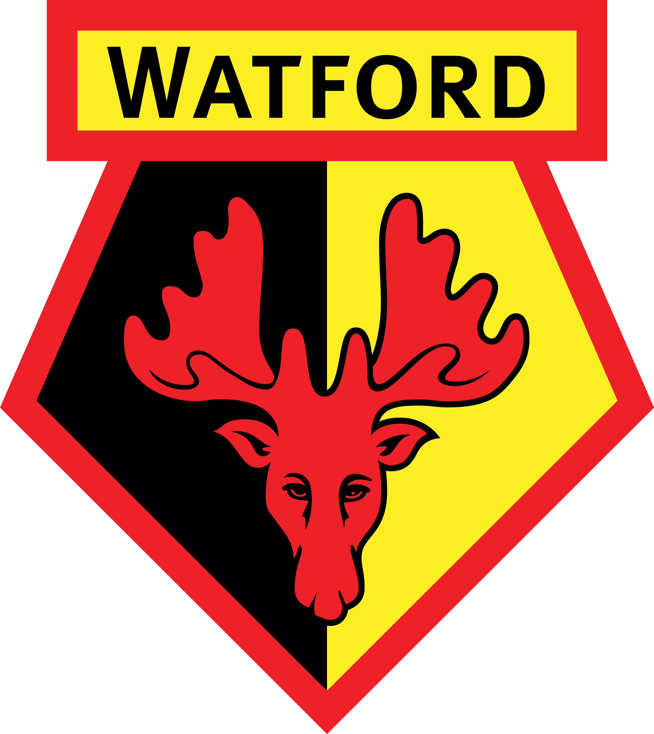 watford logo 1 - Watford Football Club Logo - Badge