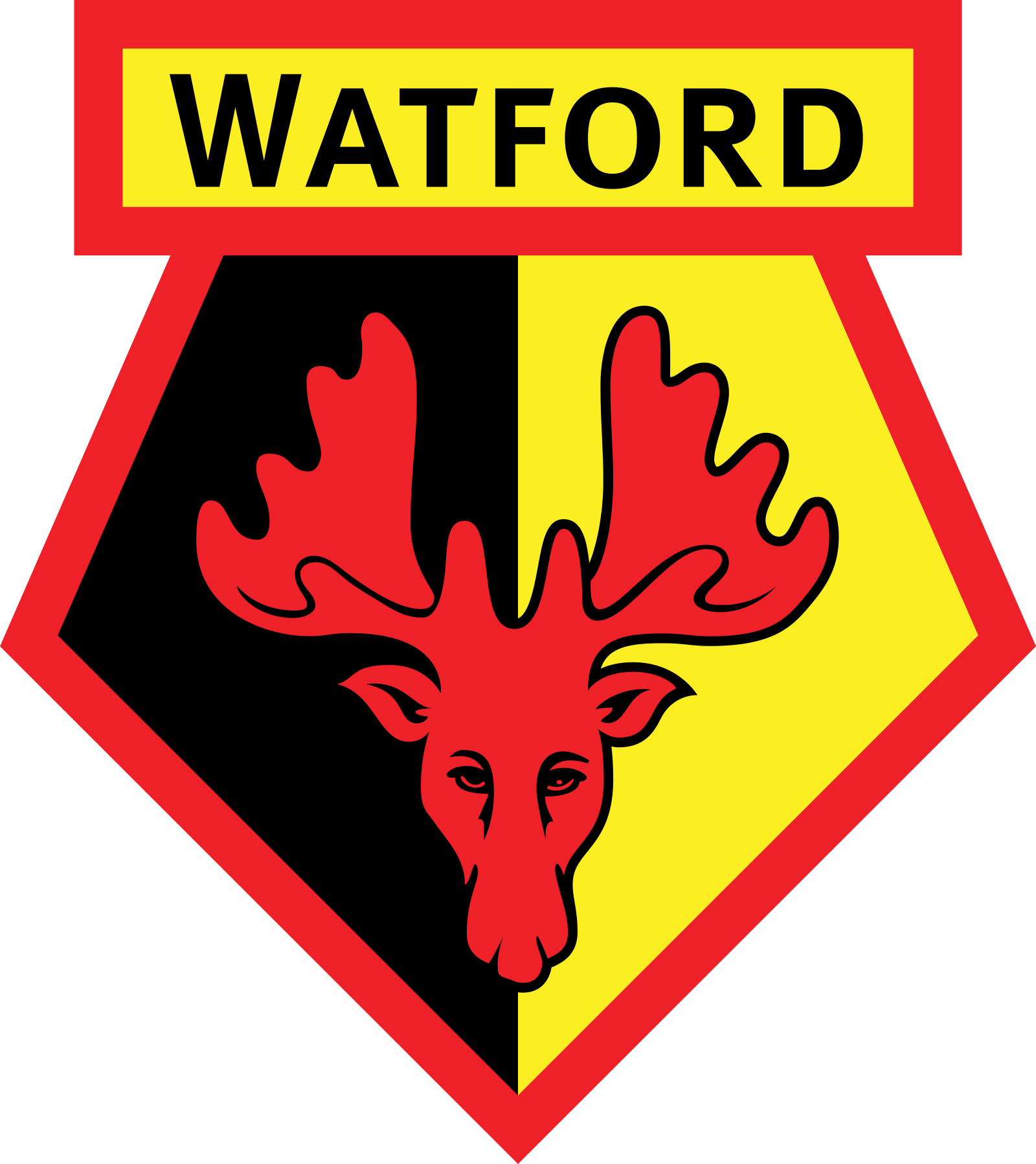watford logo 2 - Watford Football Club Logo - Badge