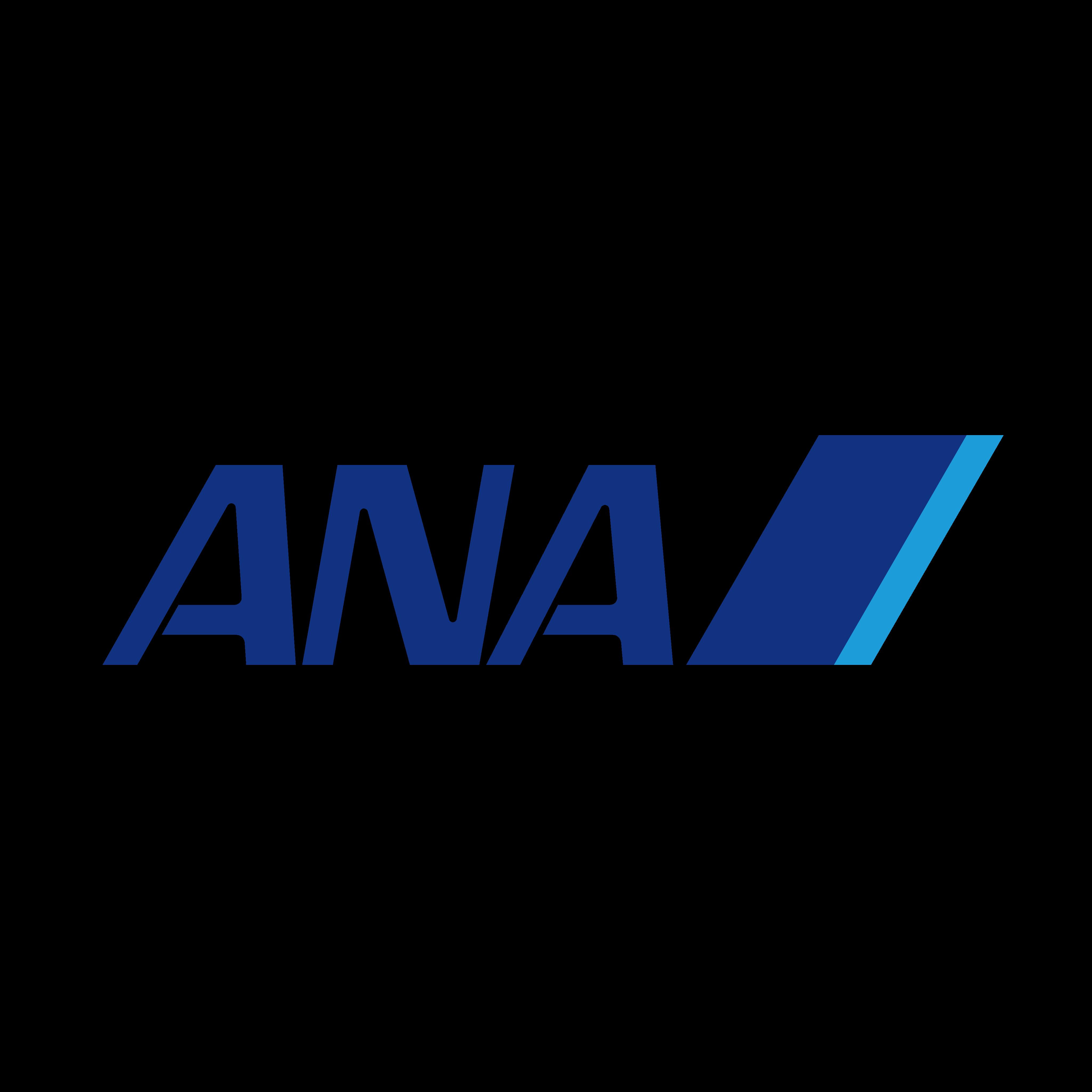 ana logo. All Nippon Airways Logo.