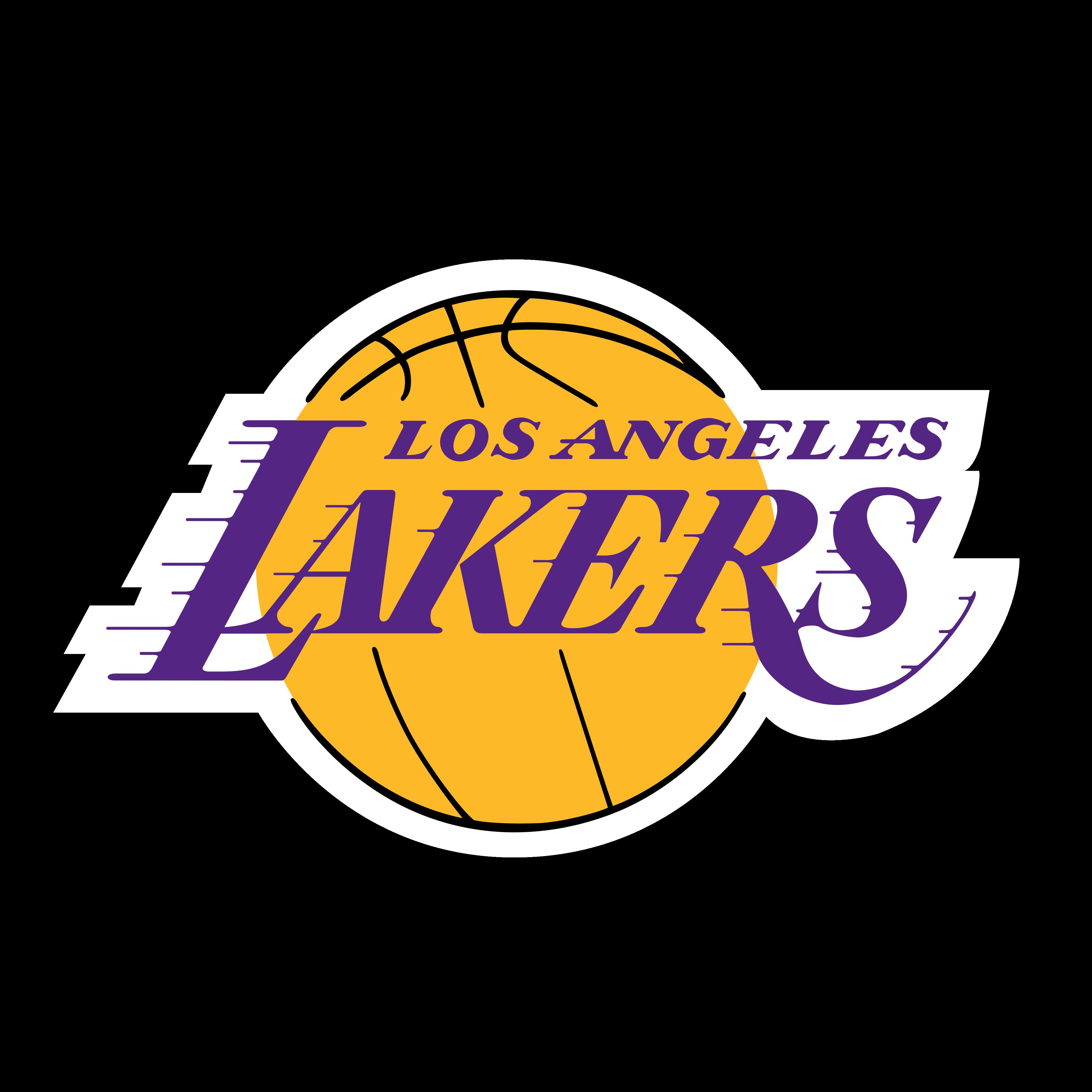 la lakers logo.