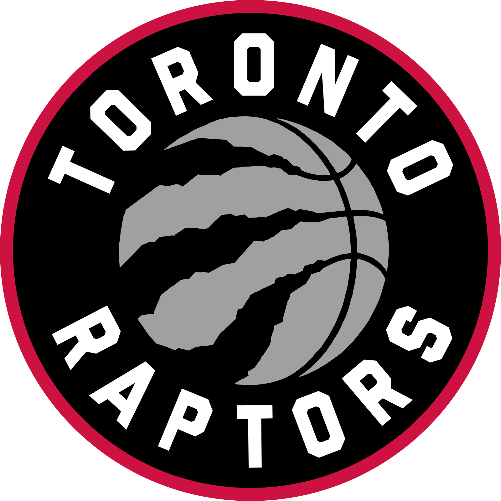 toronto raptors logo 2 - Toronto Raptors Logo