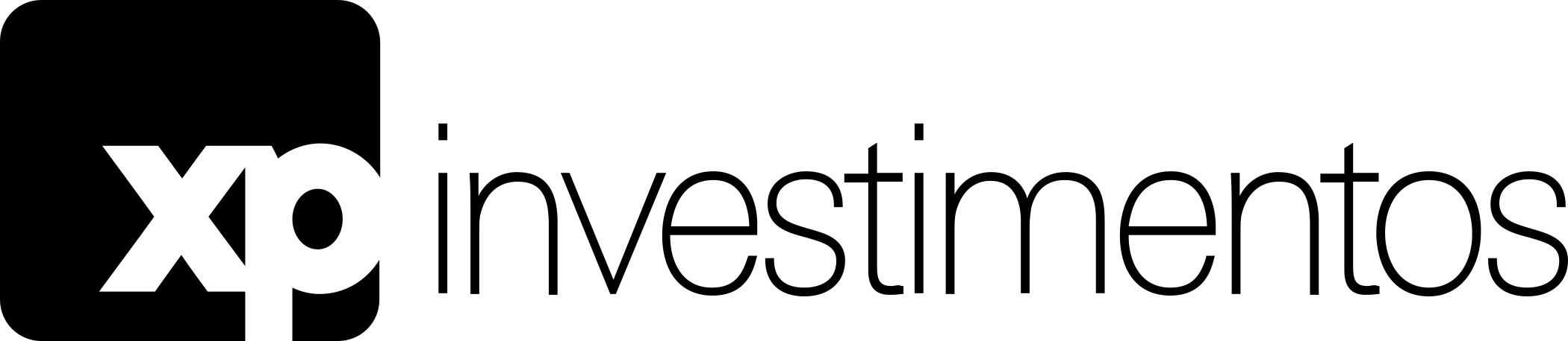 xp investimentos logo 1 - XP Investimentos Logo