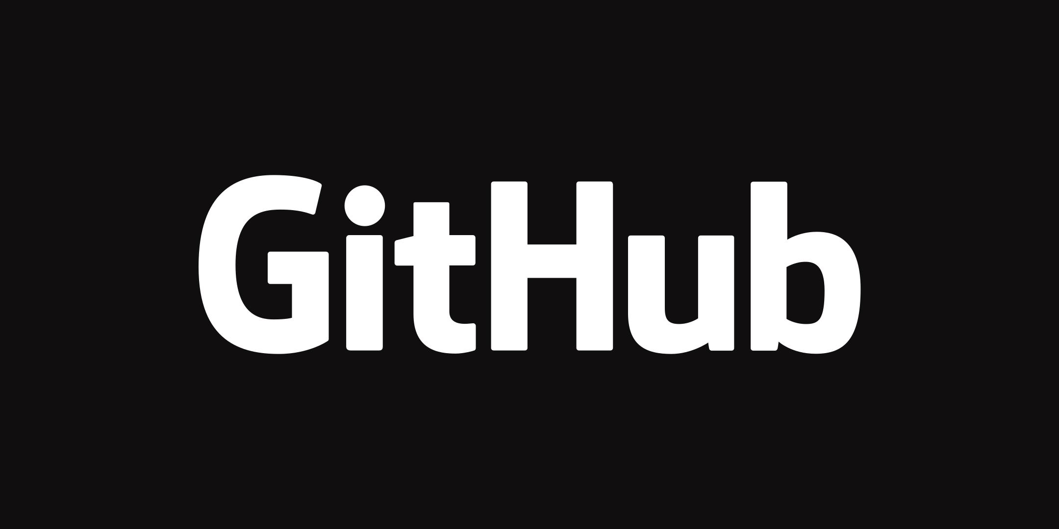 github logo 2 - Github Logo
