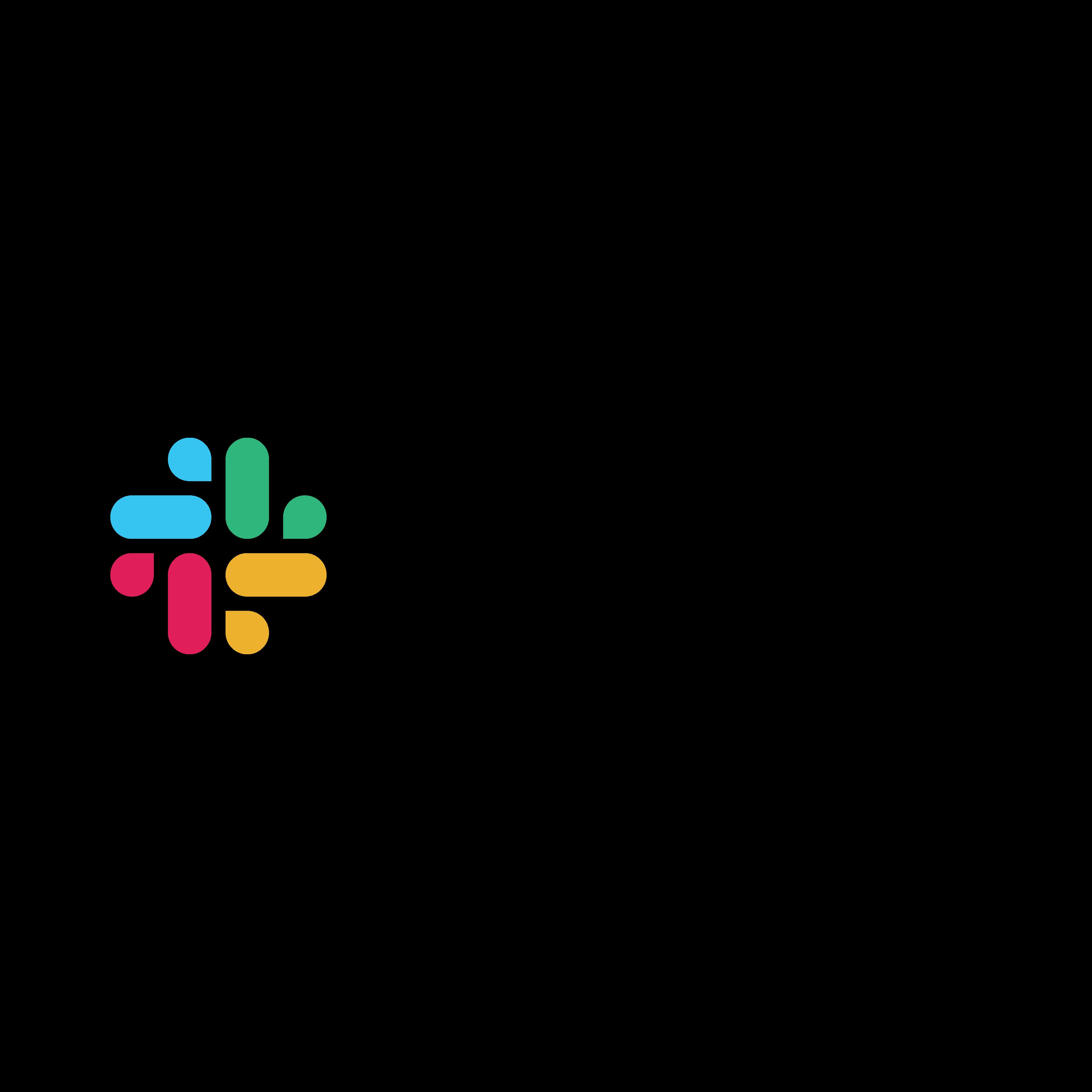 slack logo 0 - Slack Logo