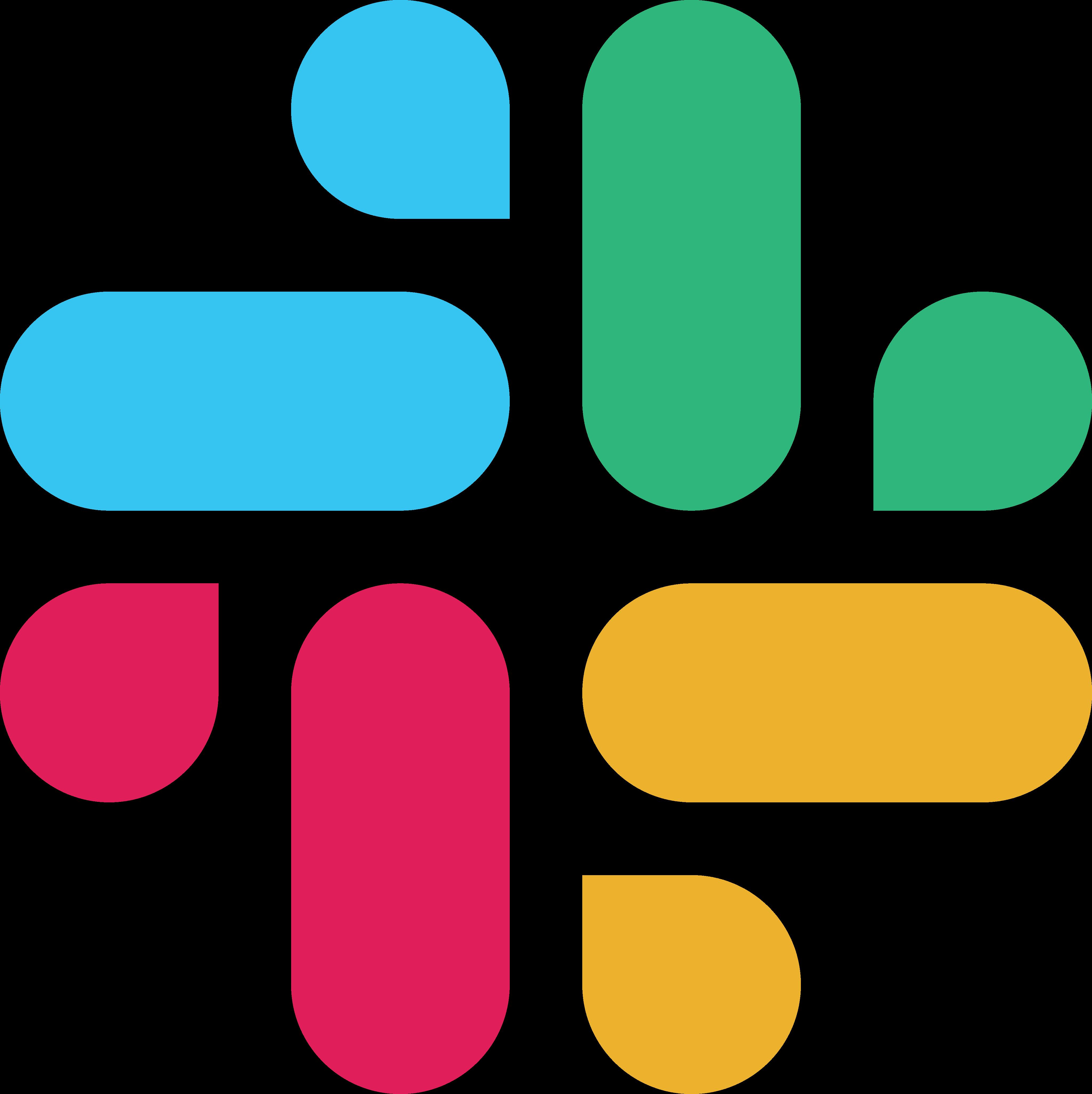 slack logo 1 - Slack Logo