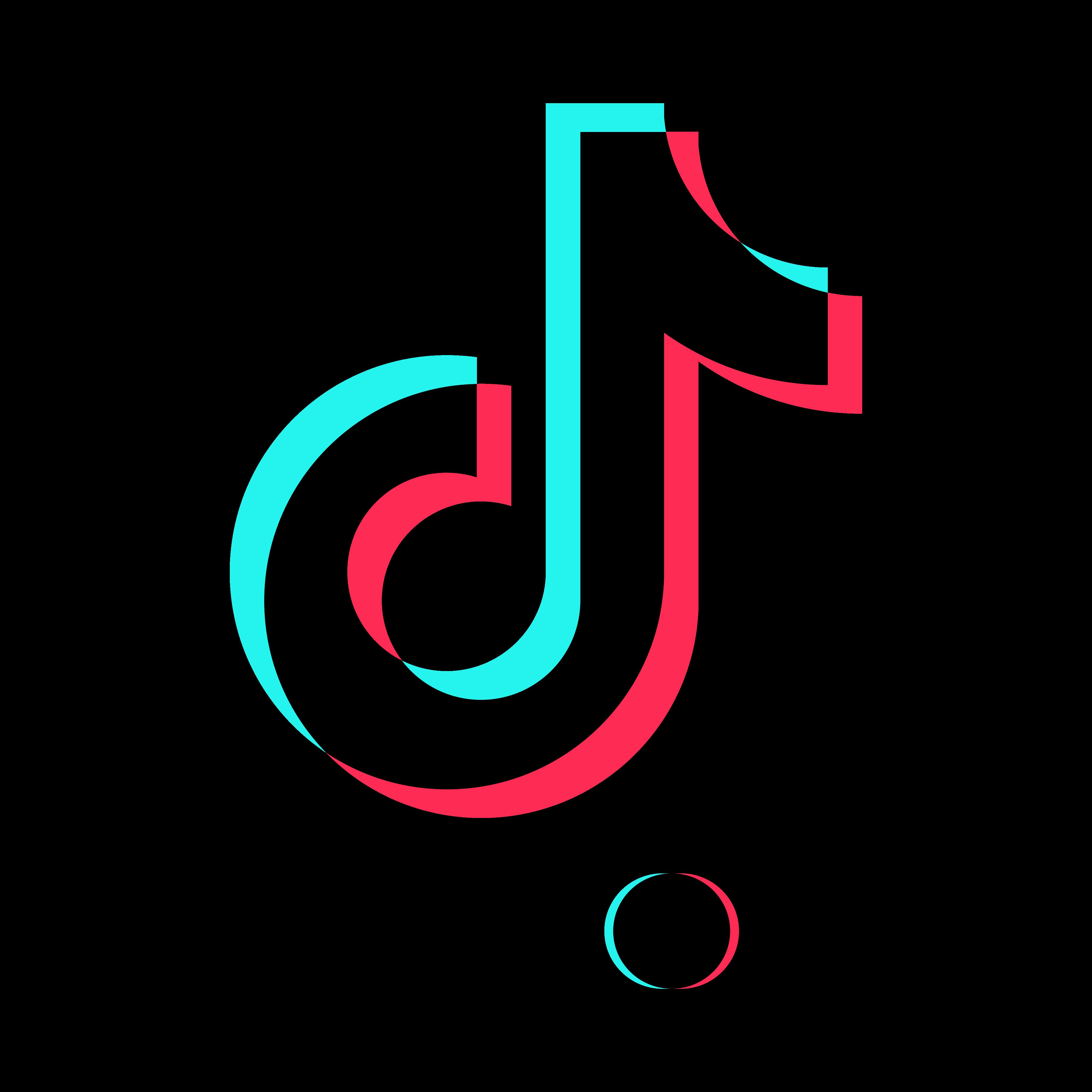 tiktok logo PNG.