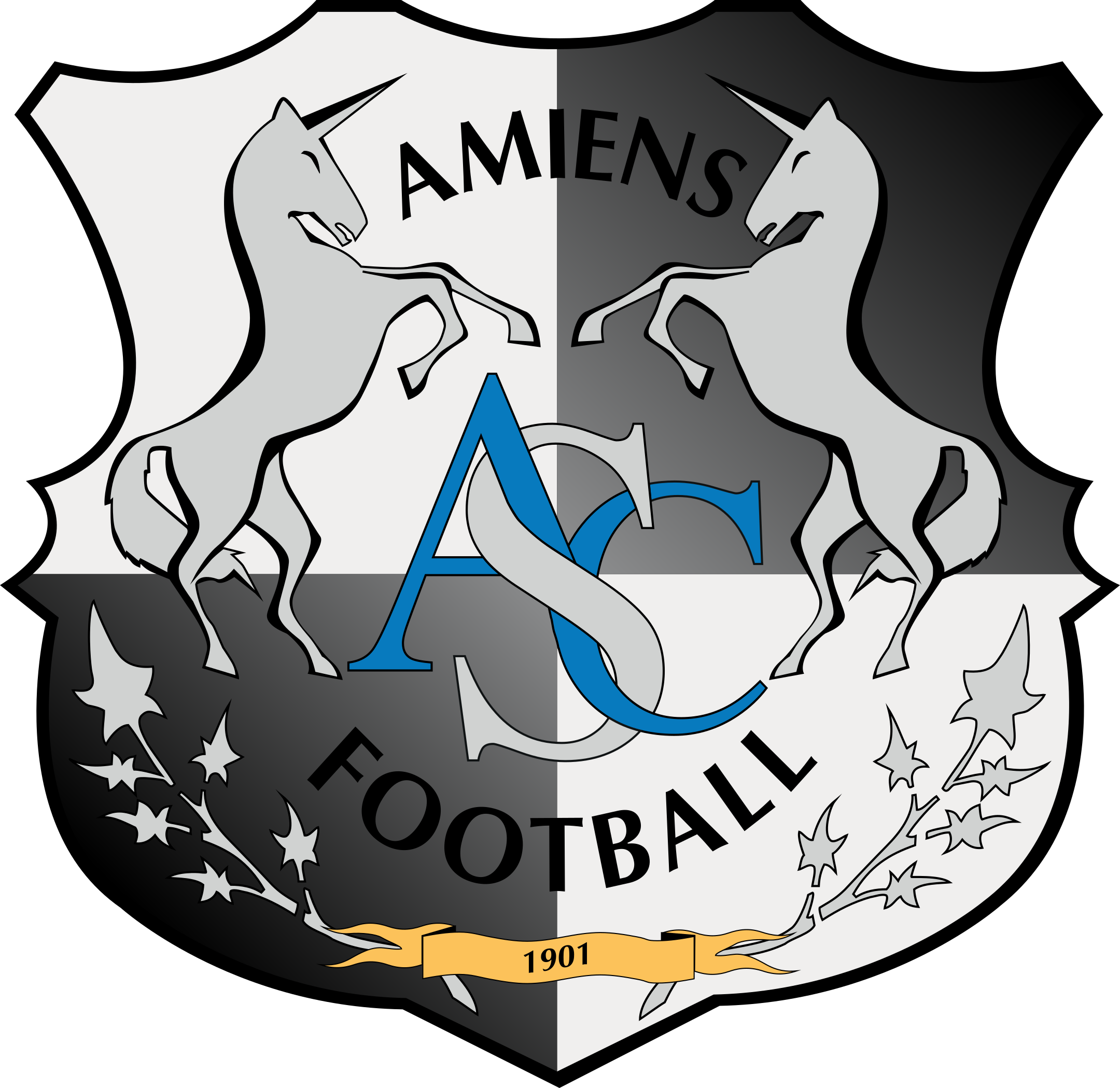 amiens sfc logo 1 - Amiens SCF Logo