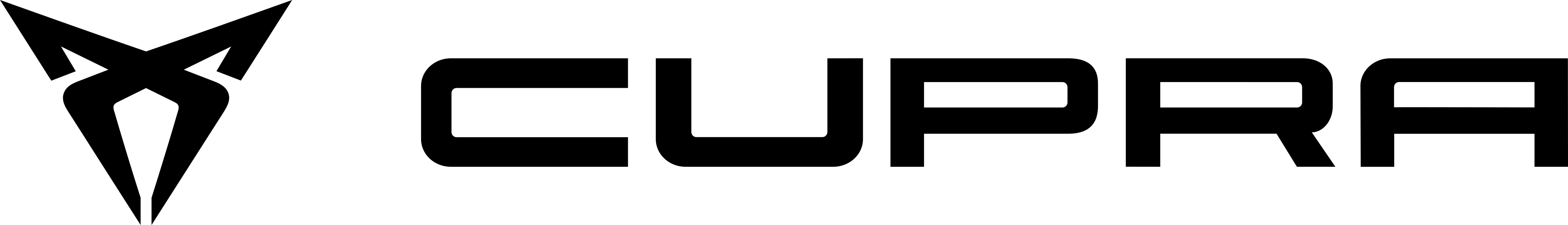 CUPRA logo.