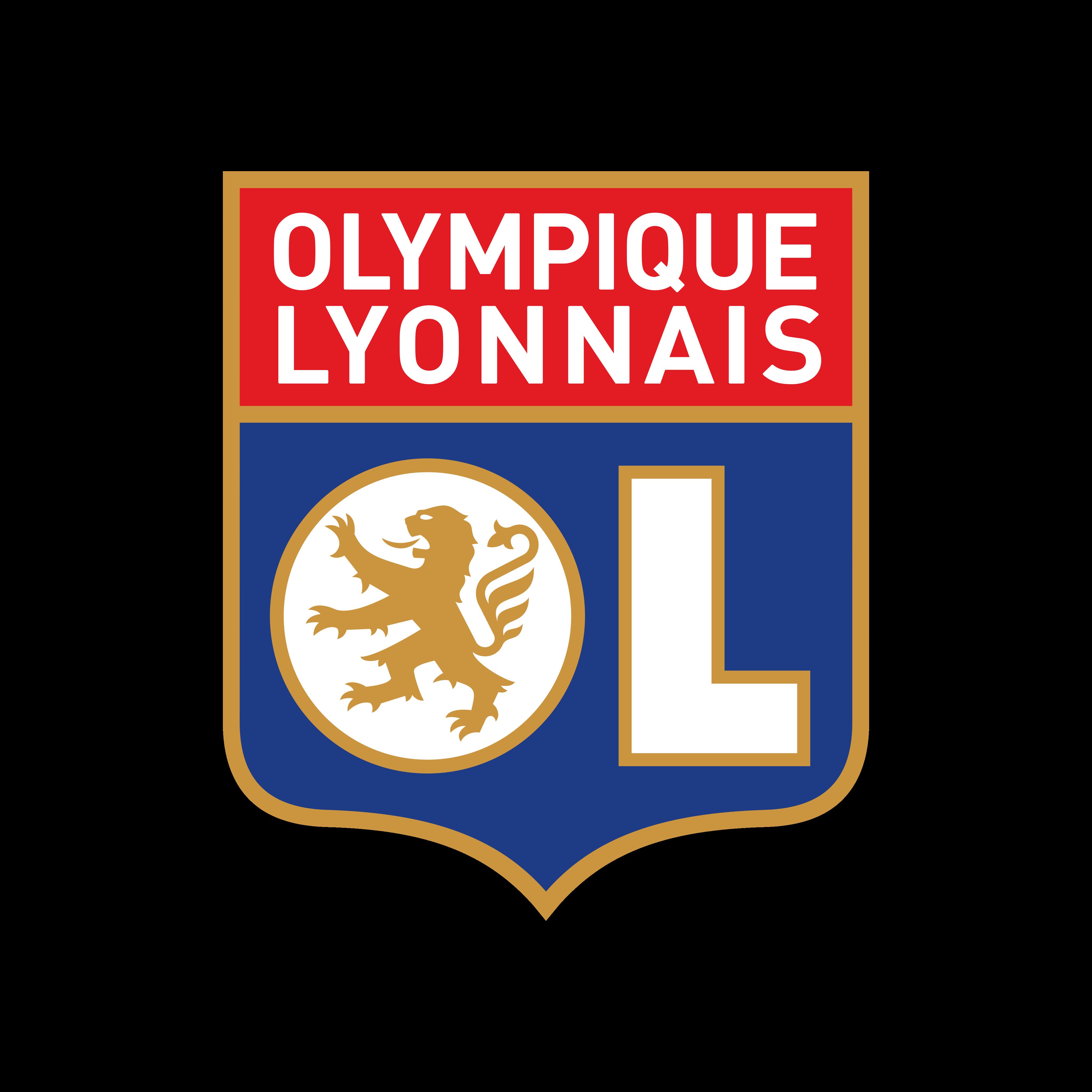 lyon logo 0 - Lyon Logo - Olympique Lyonnais Logo