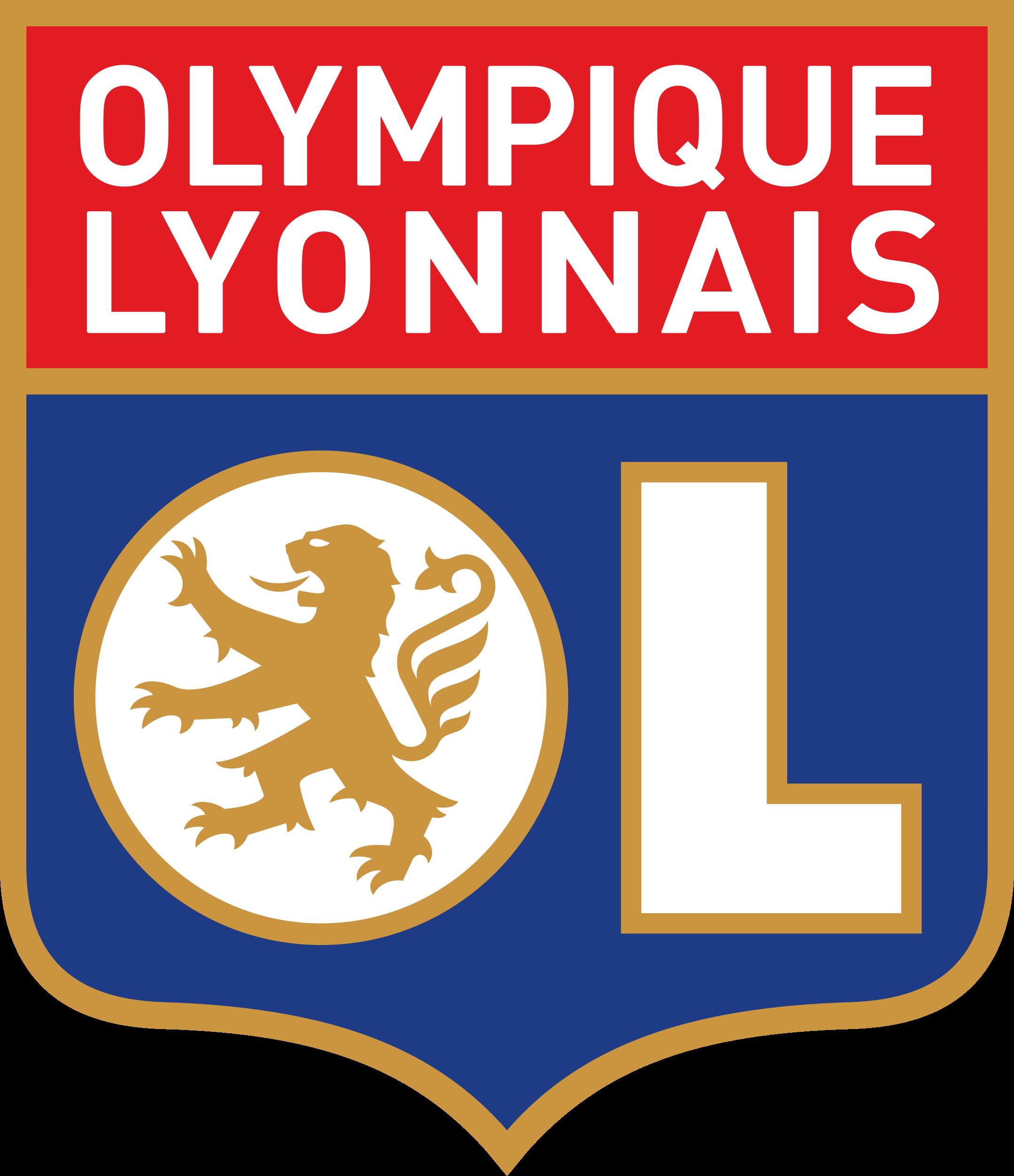 lyon logo 1 - Lyon Logo - Olympique Lyonnais Logo