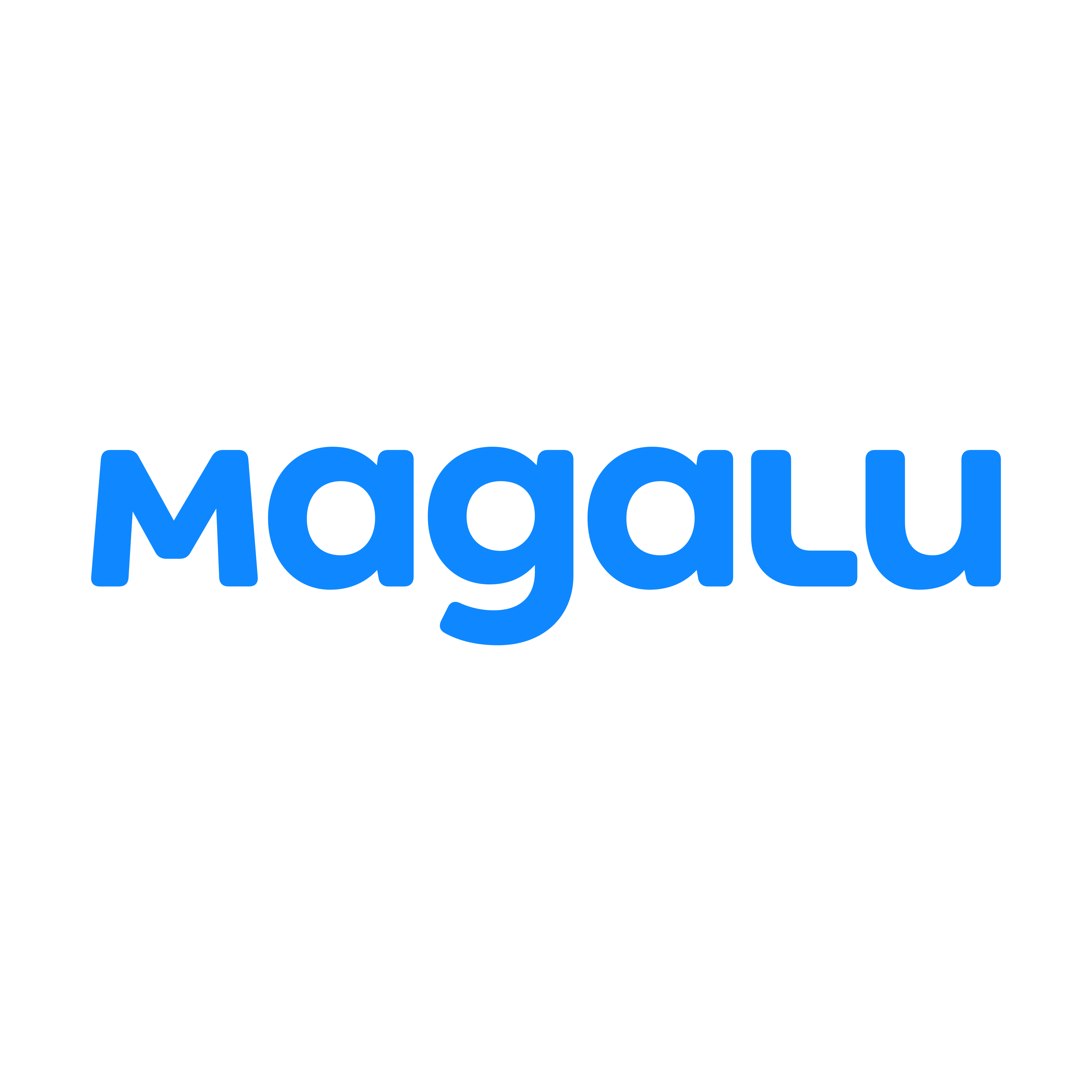 magalu logo 0 - Magalu Logo