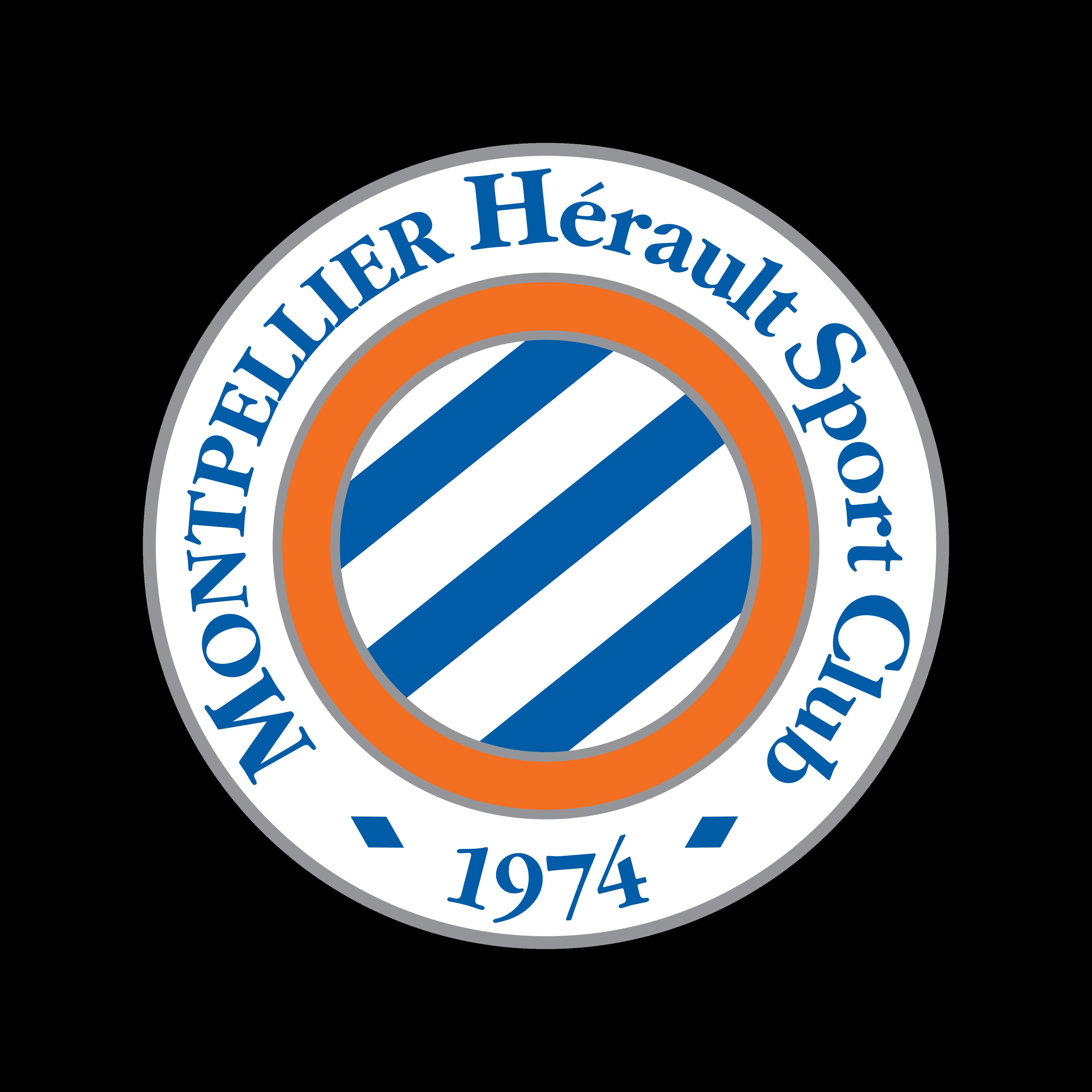 montpellier logo 0 - Montpellier Logo - Montpellier Hérault Sport Club