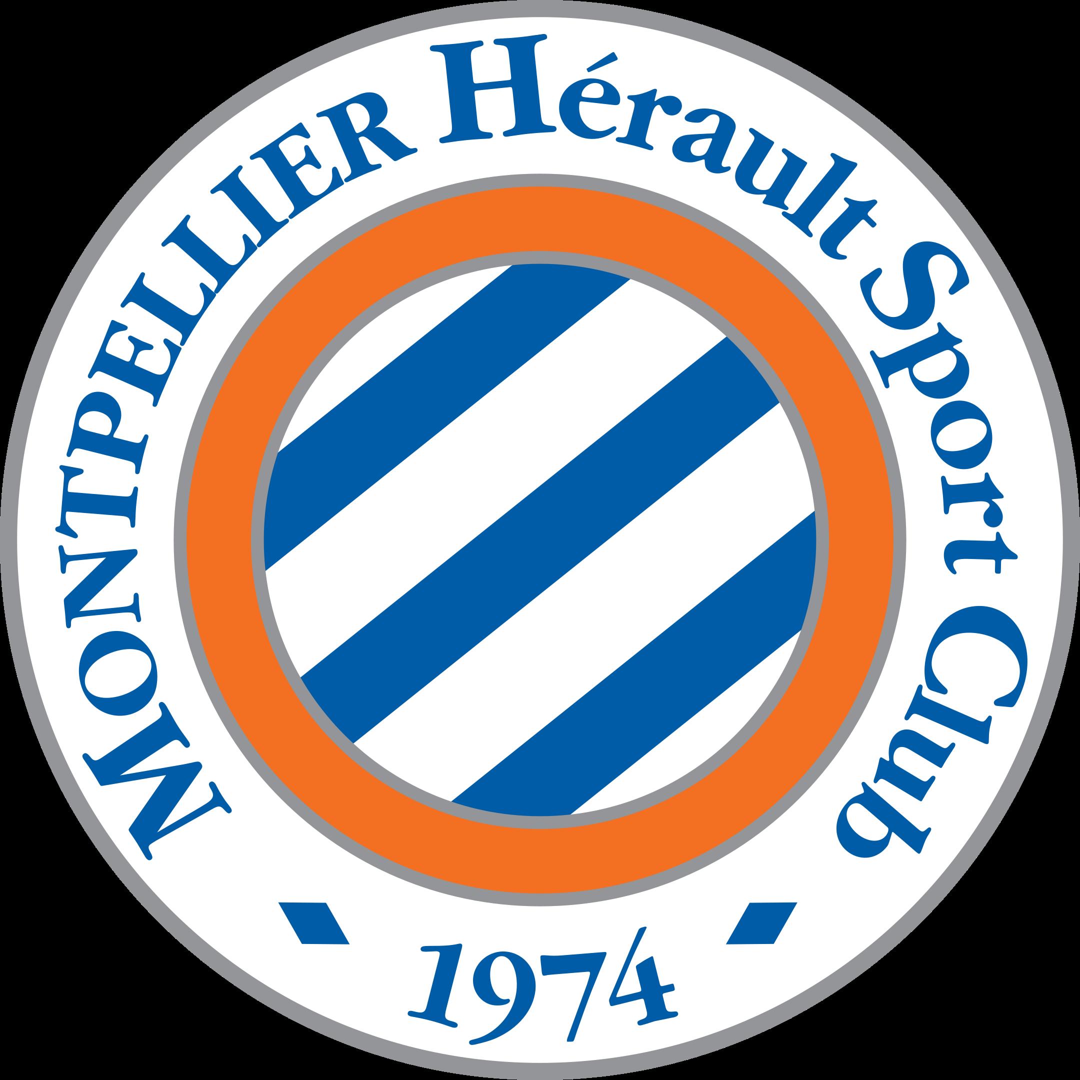 montpellier logo 1 - Montpellier Logo - Montpellier Hérault Sport Club