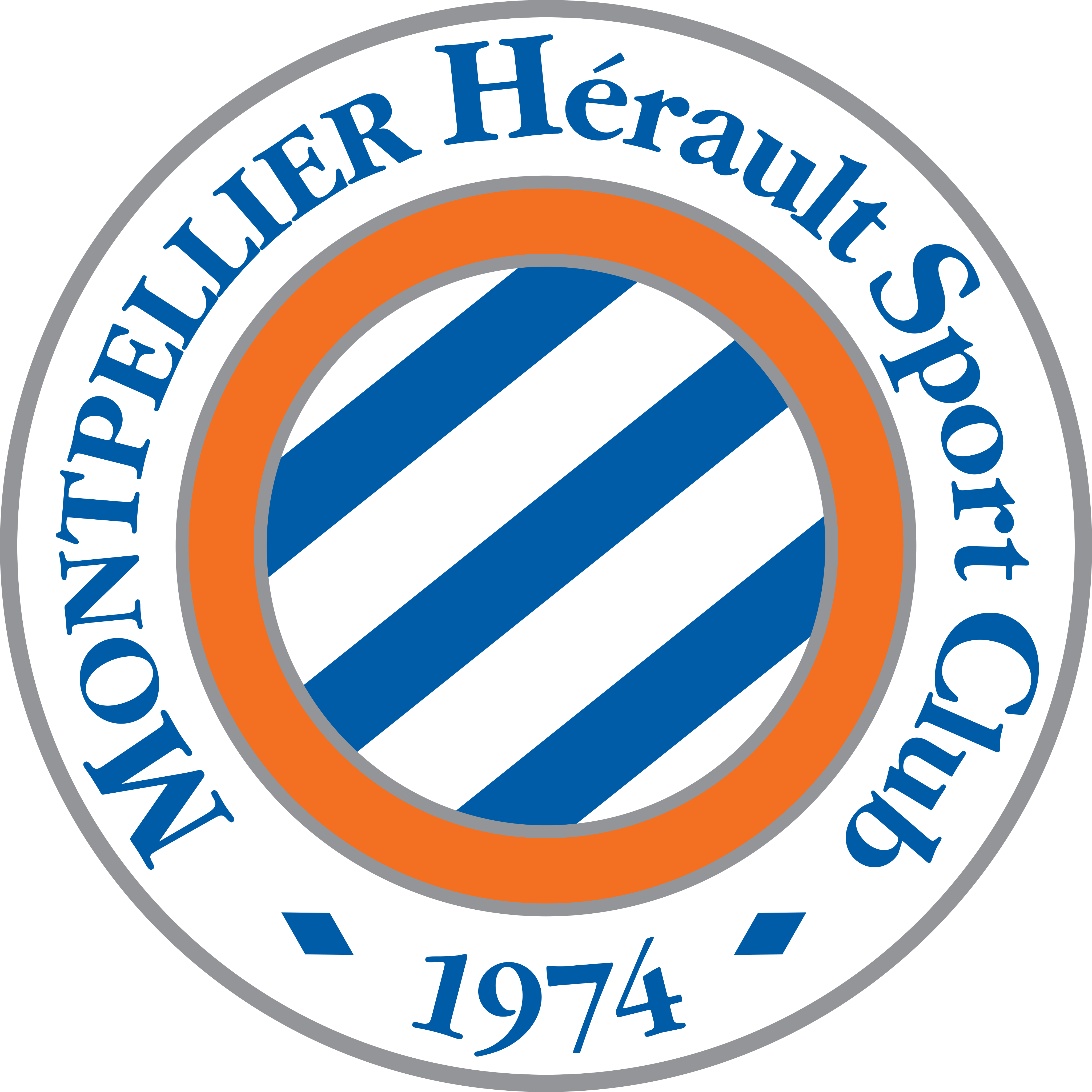 montpellier logo - Montpellier Logo - Montpellier Hérault Sport Club