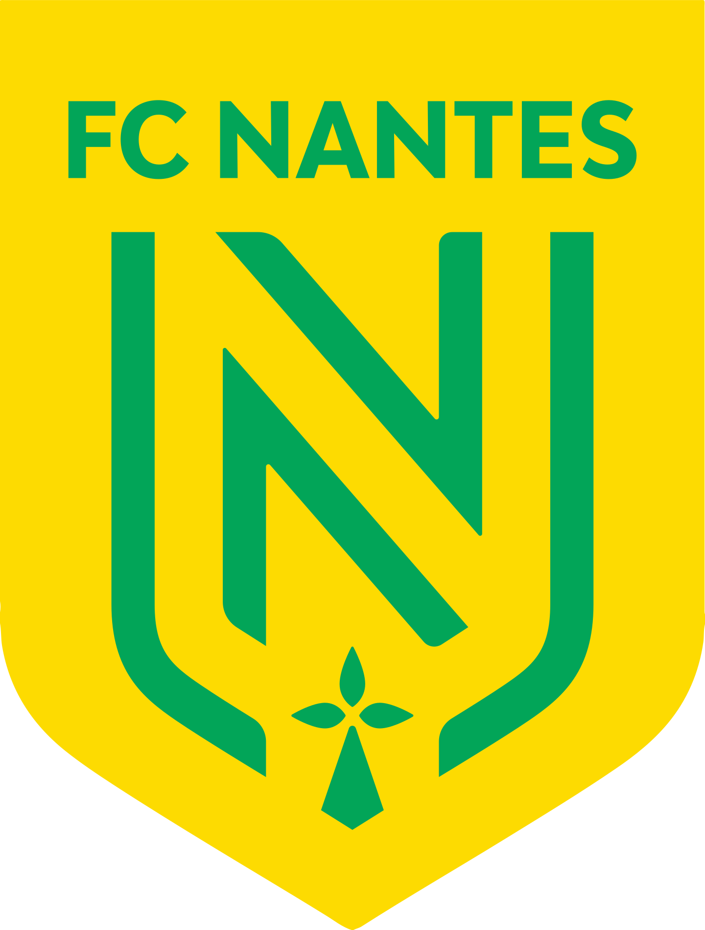 nantes fc logo 2 - FC Nantes Logo