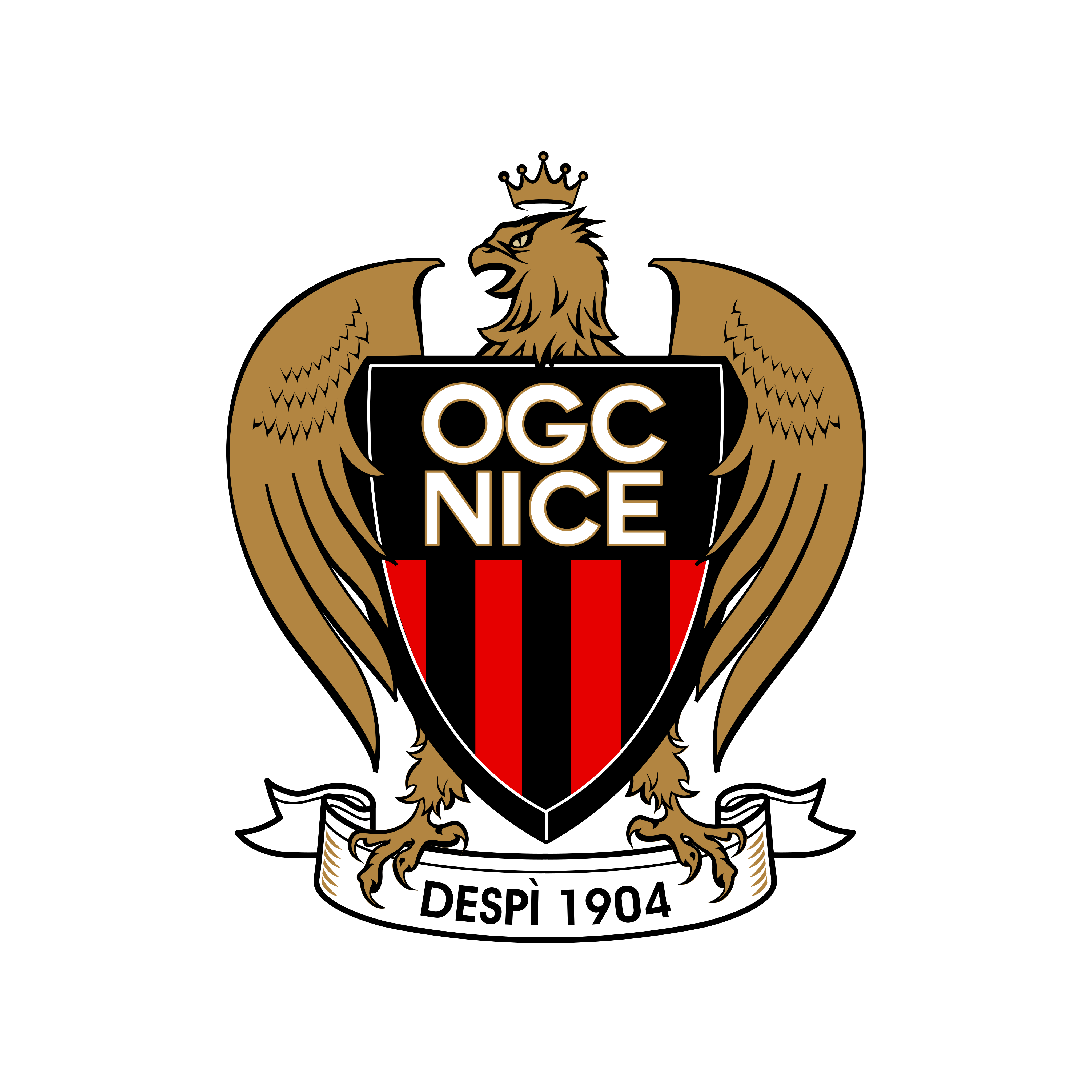 ogc nice logo 0 - OGC Nice Logo