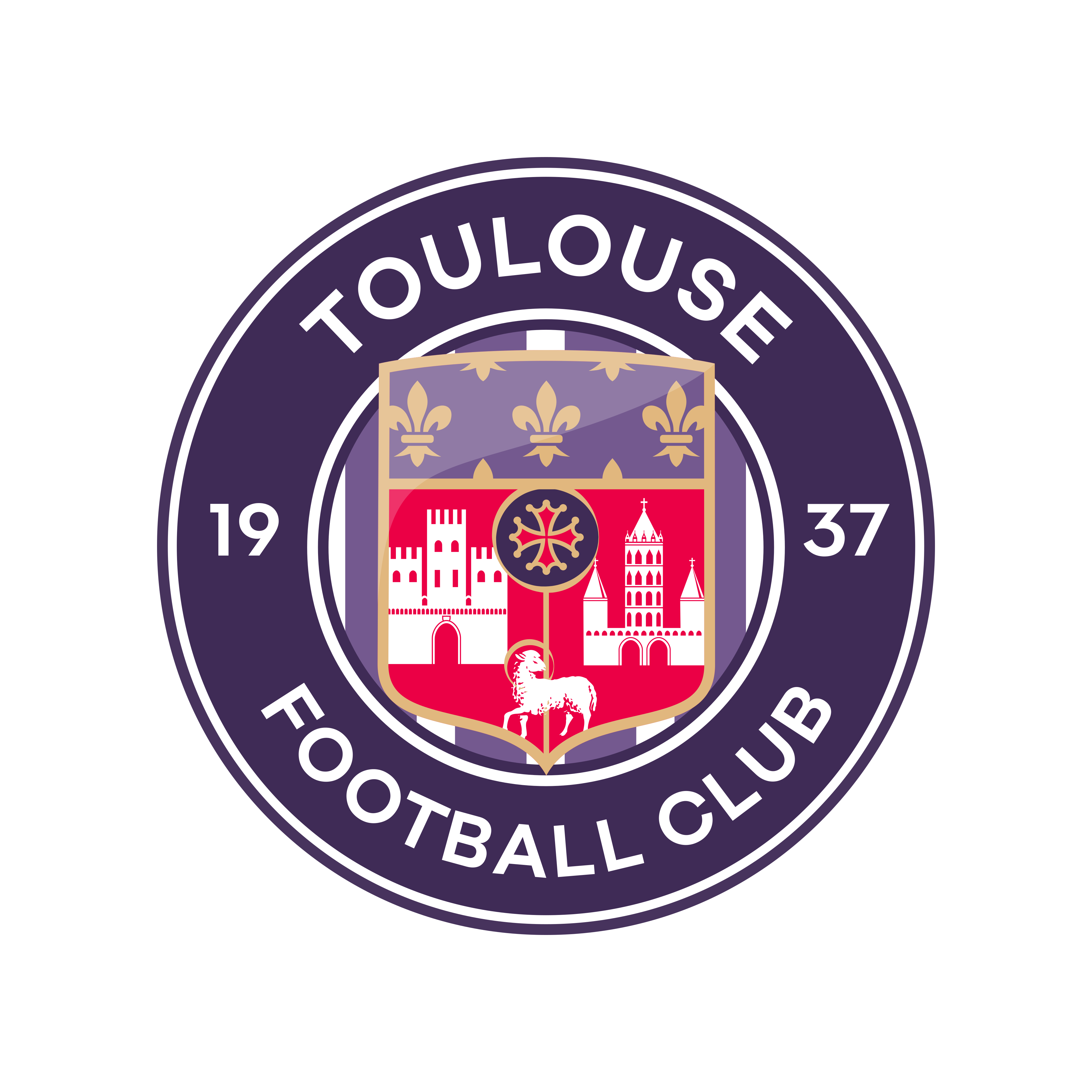 Toulouse Fc Logo PNG.