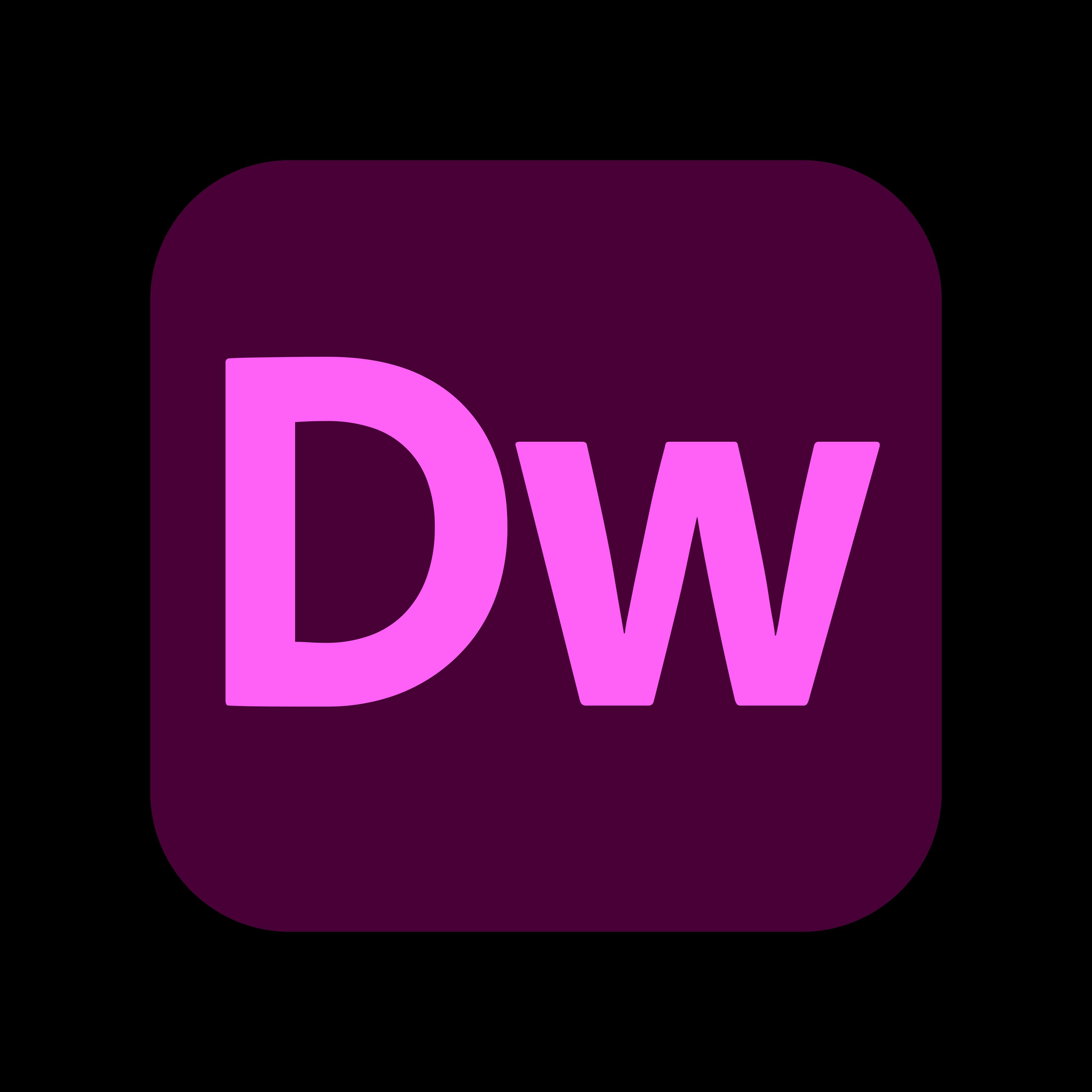 adobe dreamweaver logo 0 1 - Adobe Dreamweaver Logo