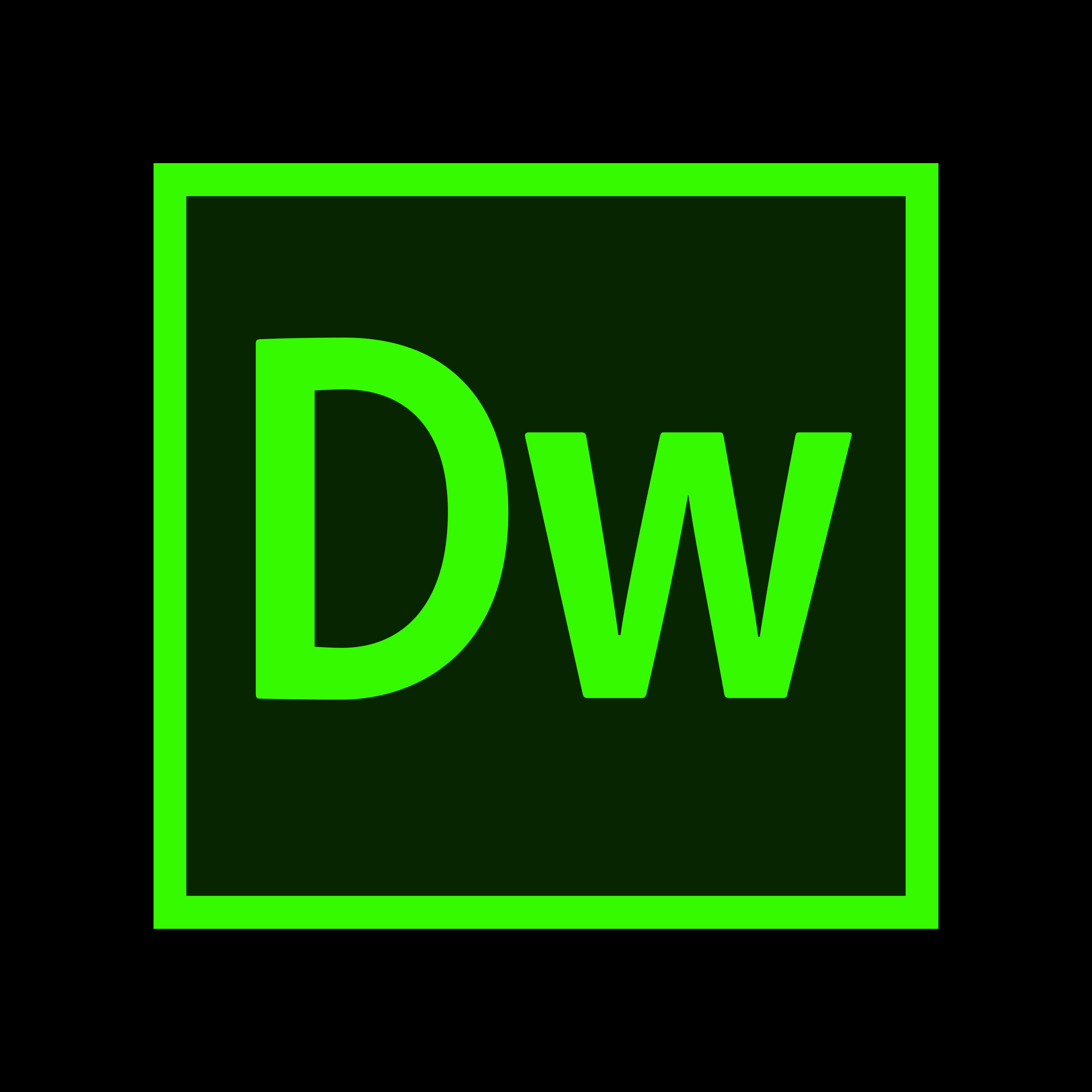 Adobe Dreamweaver Logo PNG.