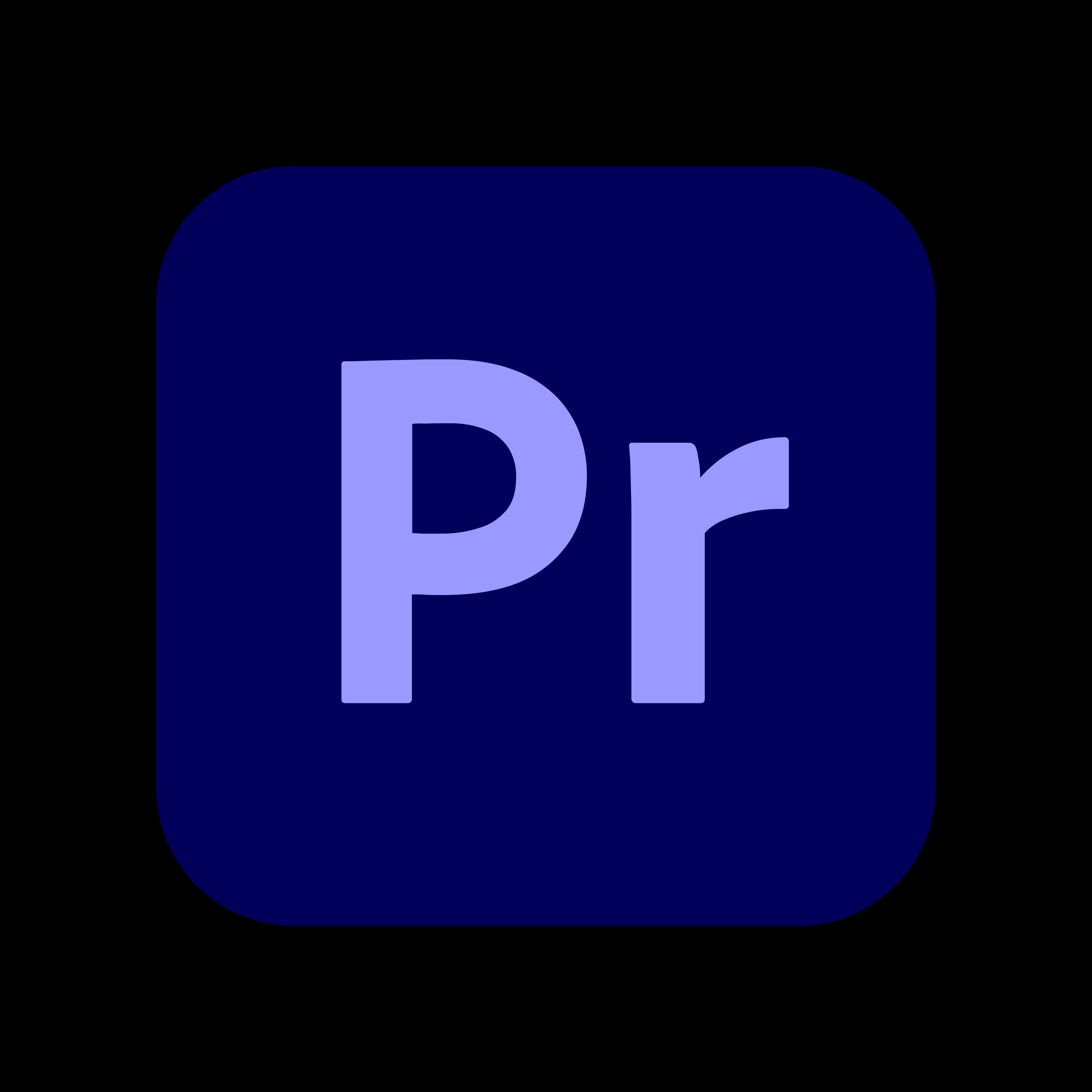 adobe premiere pro logo 0 1 - Adobe Premiere Pro Logo