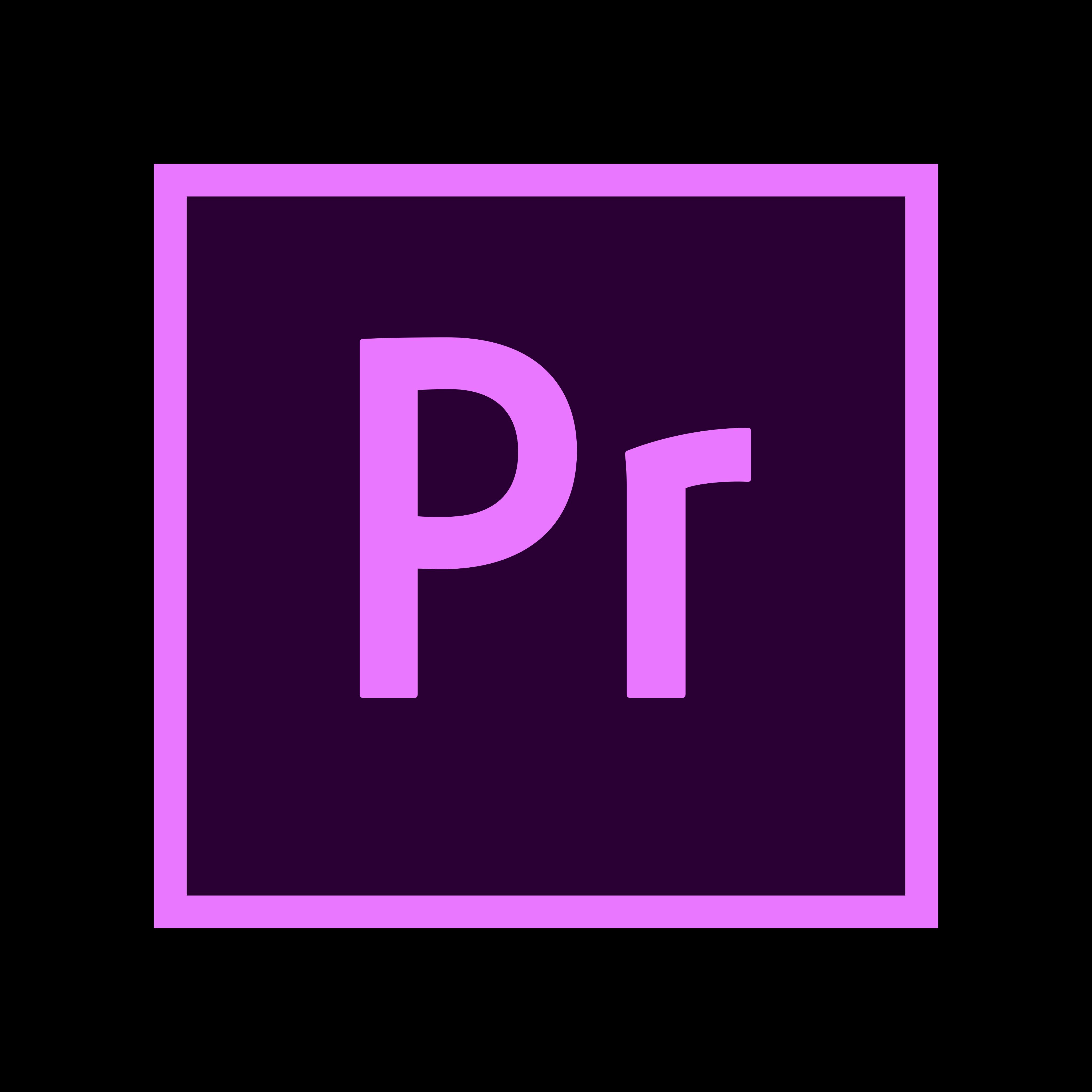 Adobe Premiere Pro Logo PNG.