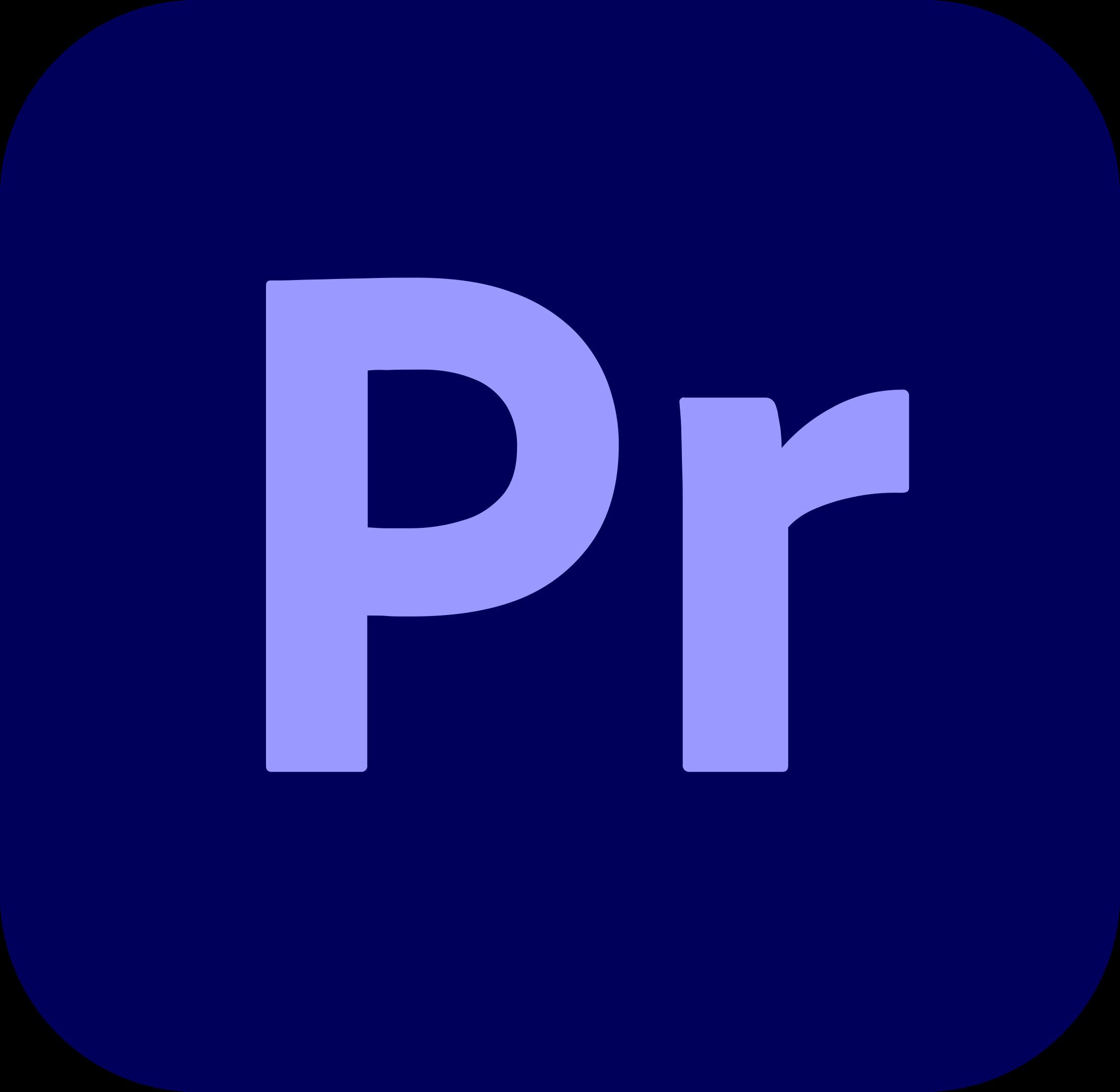 adobe premiere pro logo 1 1 - Adobe Premiere Pro Logo