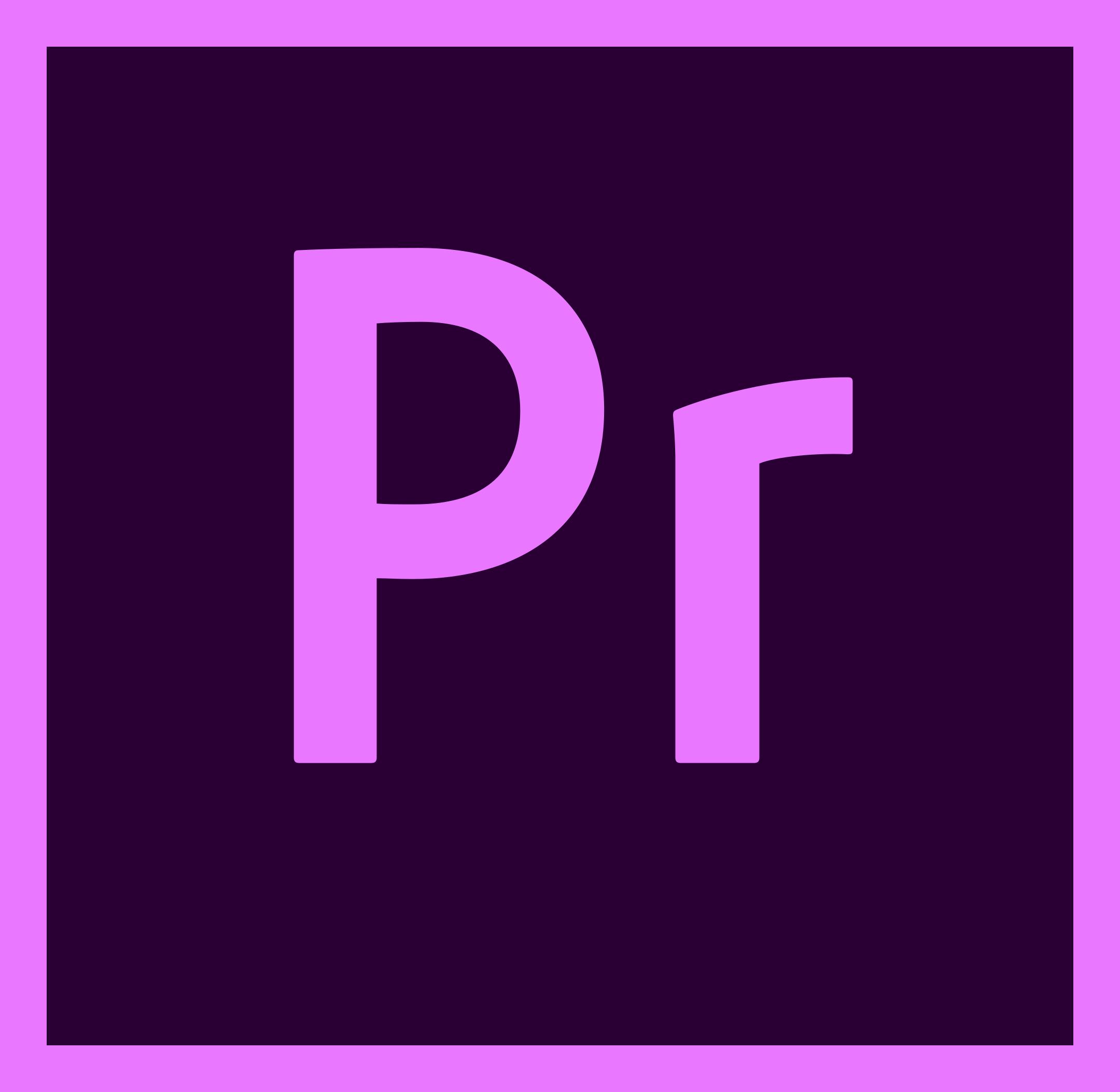 adobe premiere pro logo 1 - Adobe Premiere Pro Logo