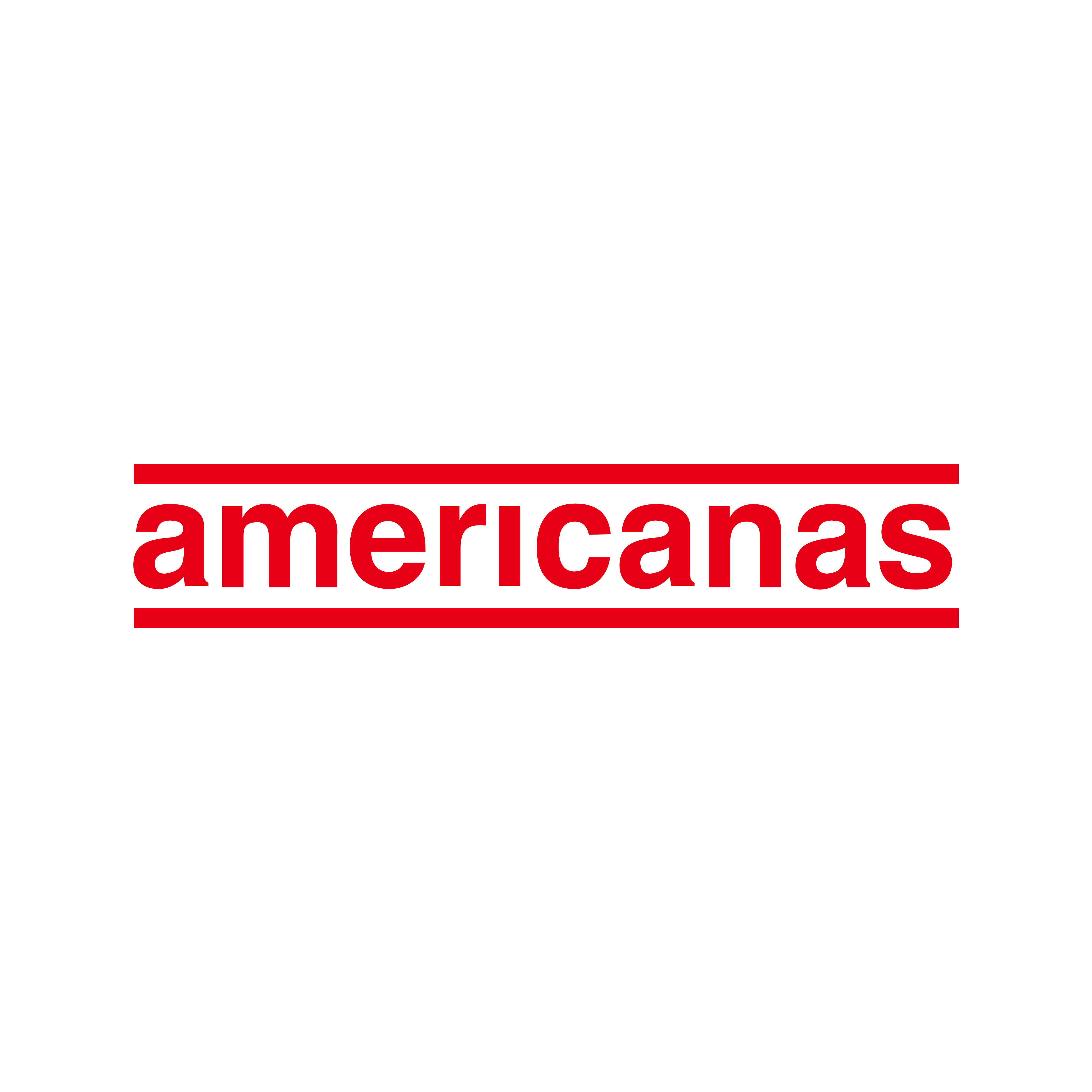 Americanas Logo PNG.