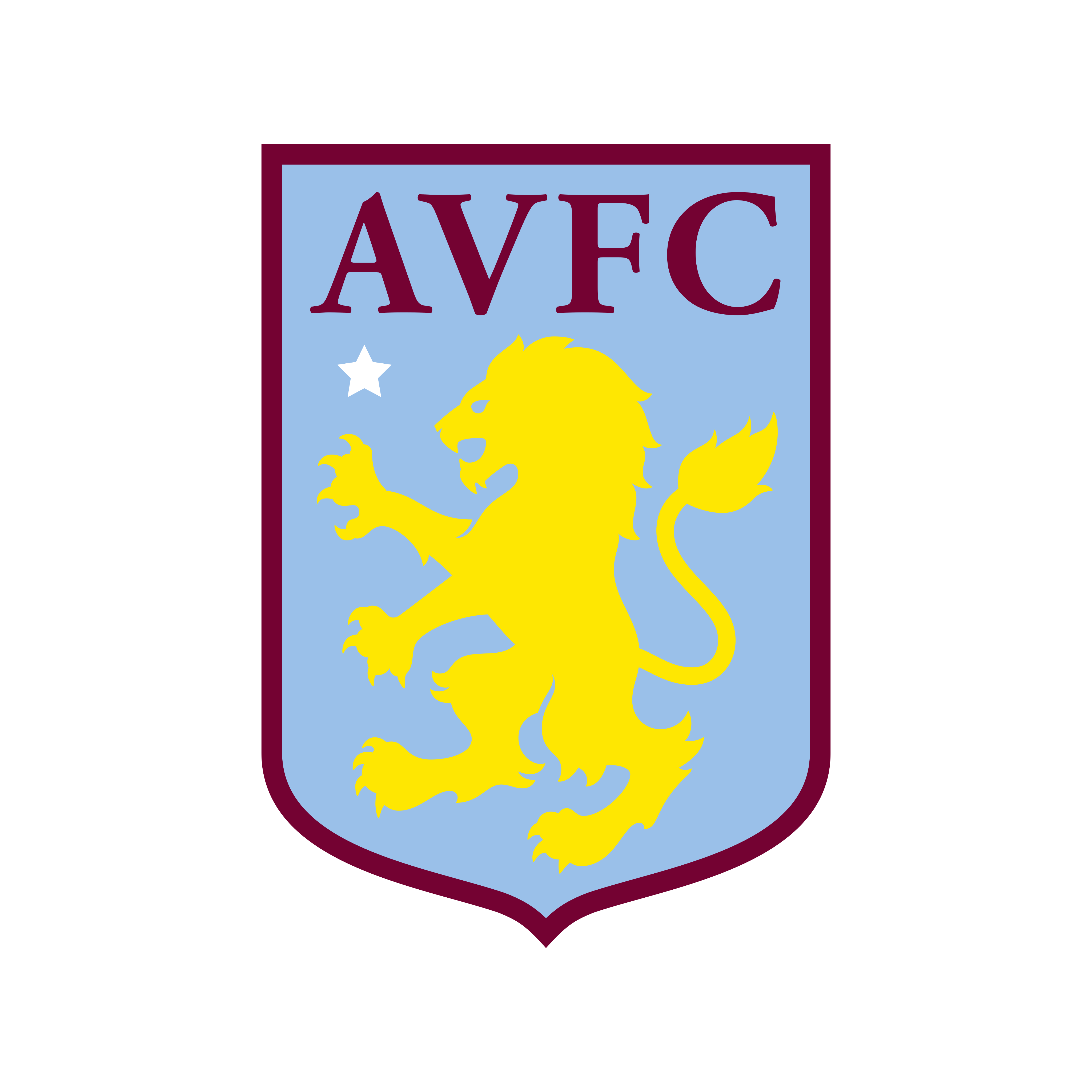 Aston Villa FC Logo - PNG e Vetor - Download de Logo