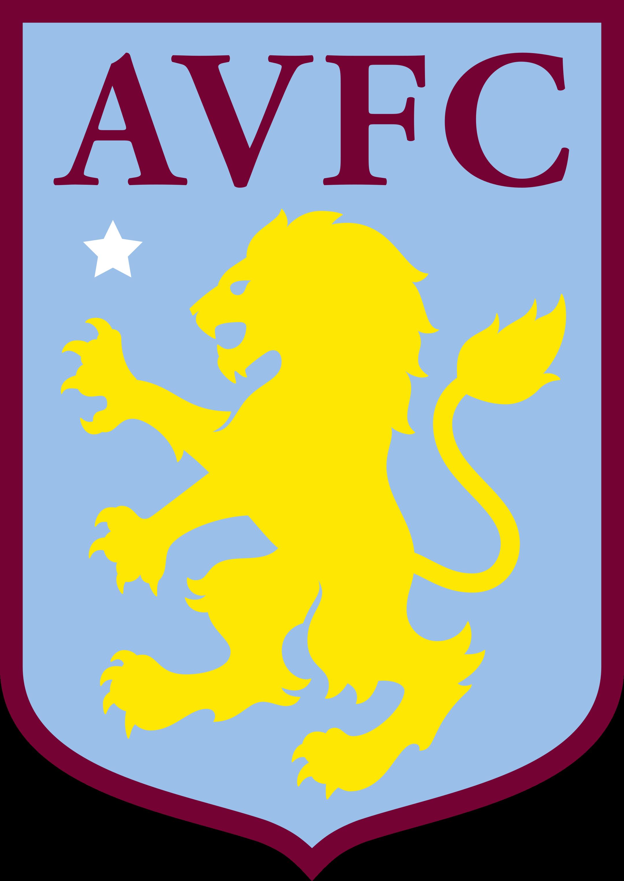 aston villa logo 1 - Aston Villa FC Logo