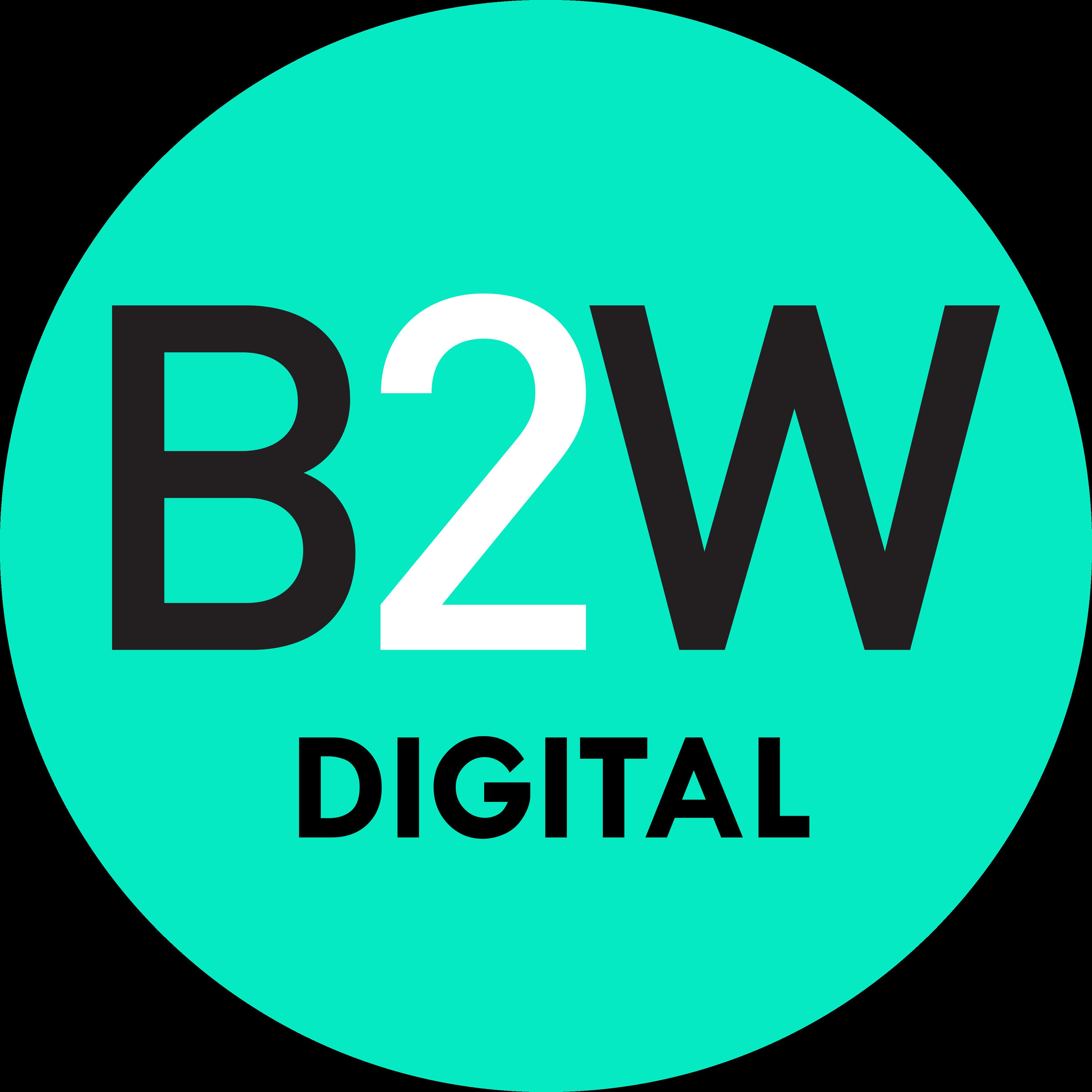 B2W Logo.