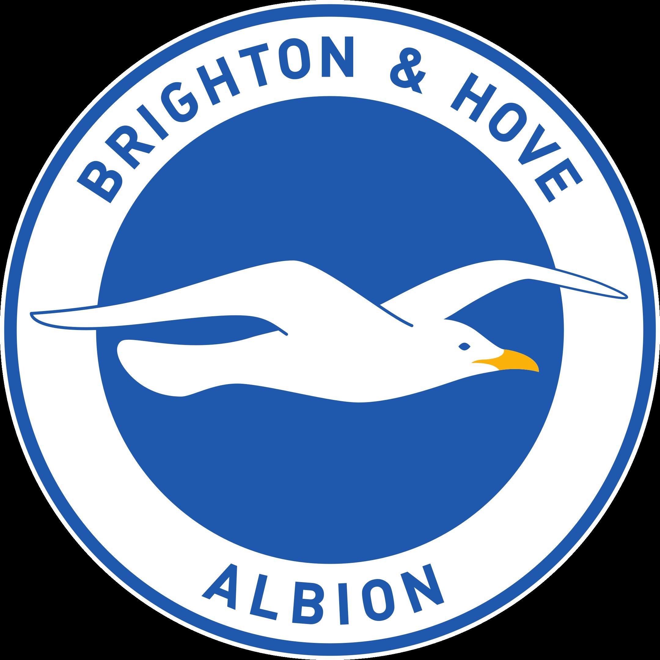 brighton hove albion logo 1 - Brighton & Hove Albion FC Logo